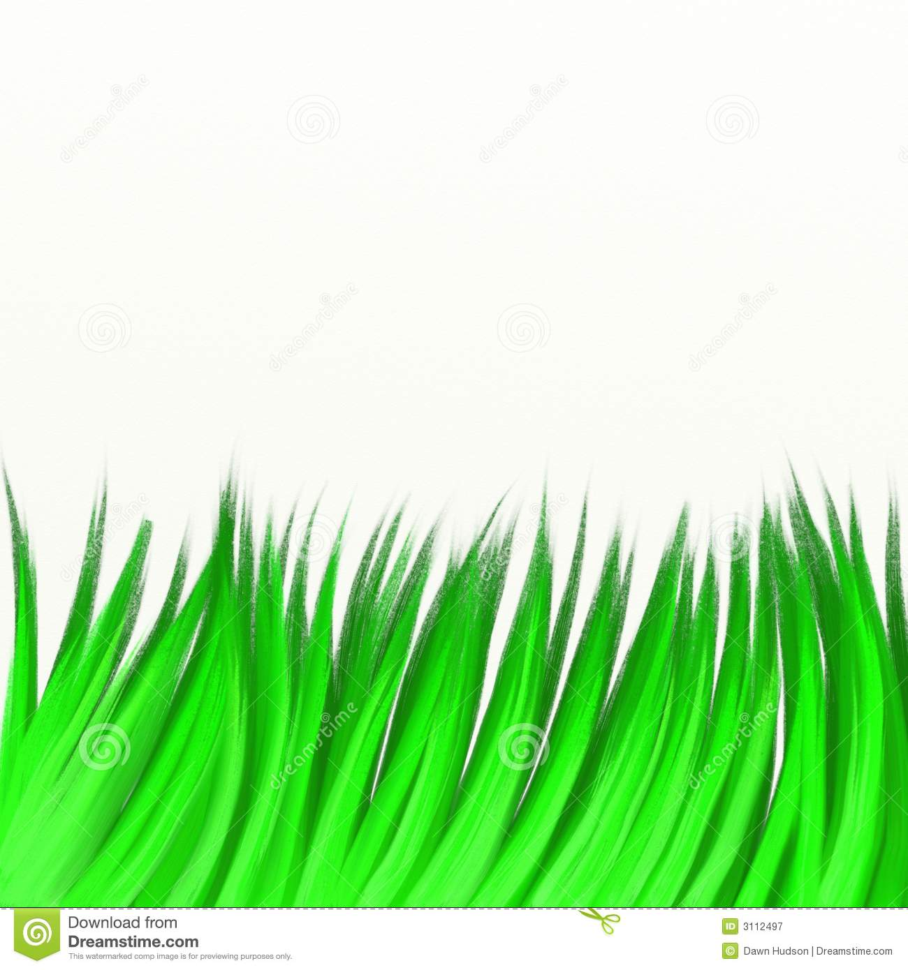 Painted Grass Royalty Free Stock Photography Image 3112497