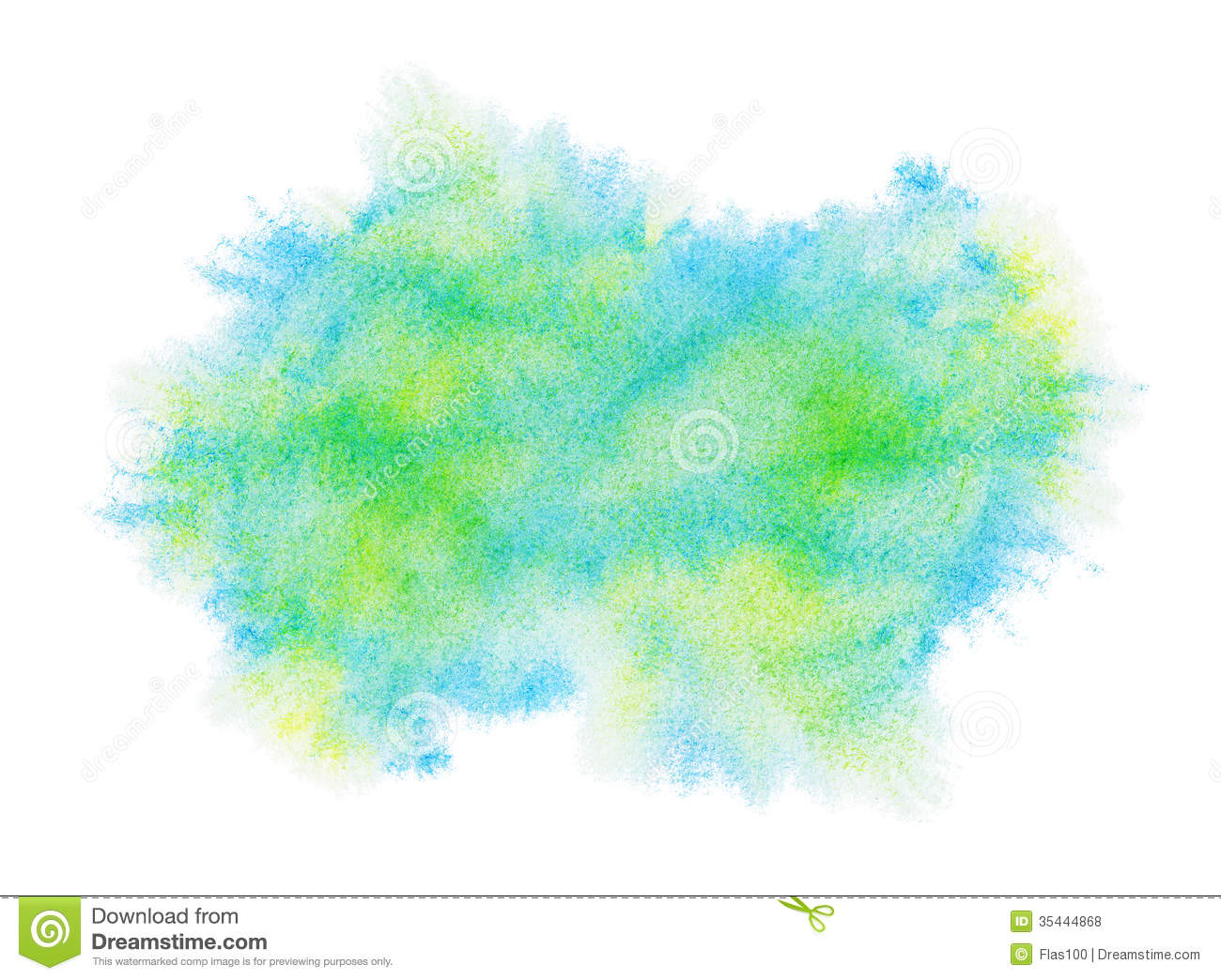Watercolor splatter vector abstract watercolor background - Painted Green Watercolor Stain Royalty Free Stock Photos
