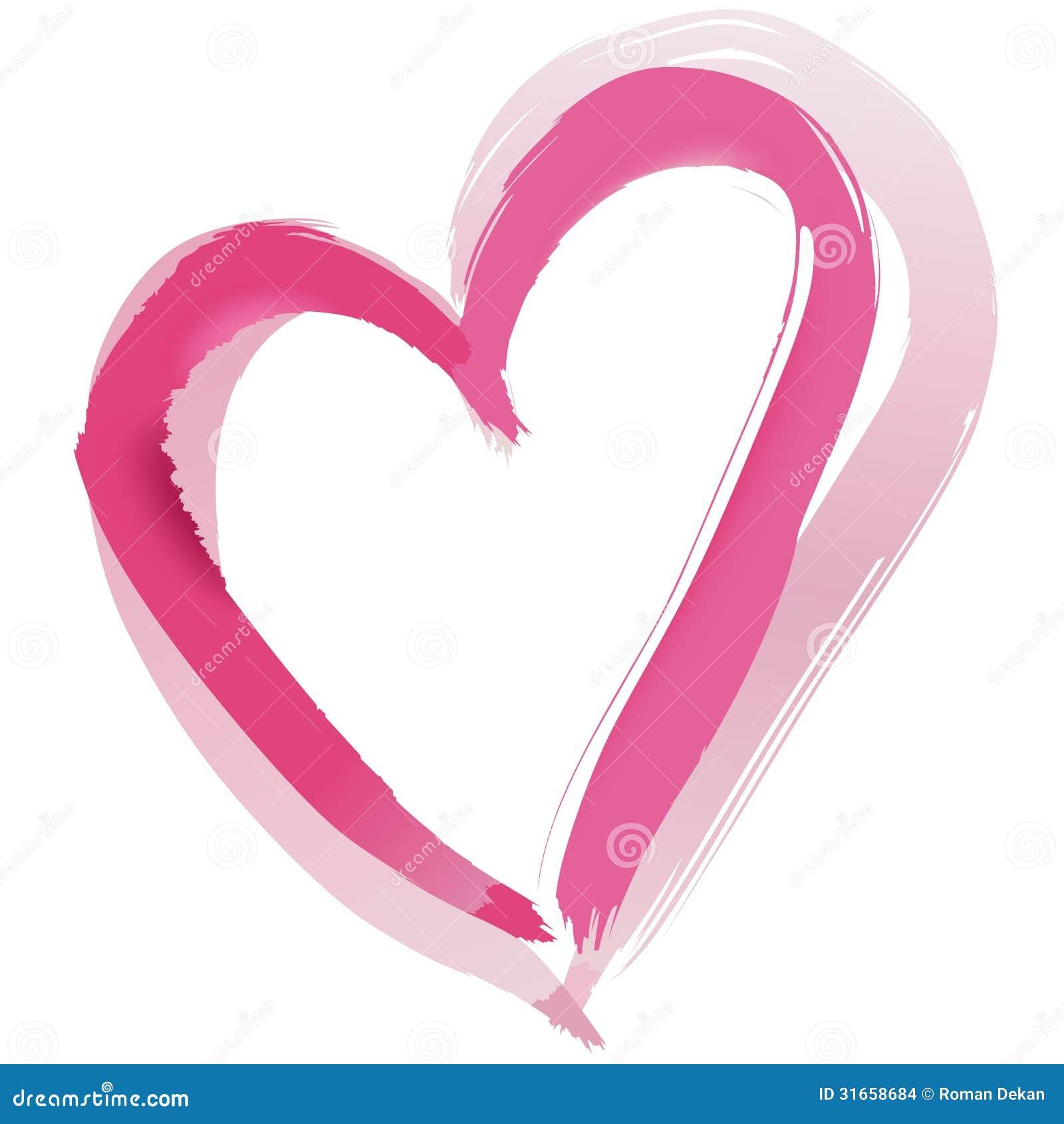 painted heart shape stock images image 31658684. Black Bedroom Furniture Sets. Home Design Ideas