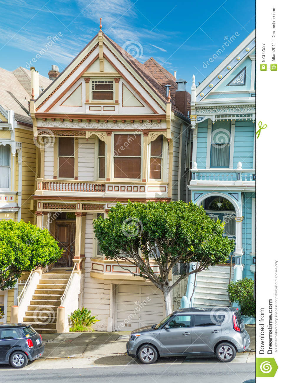 Painted Lady In Alamo Square Editorial Photography Image Of Alamo Residential 82372537