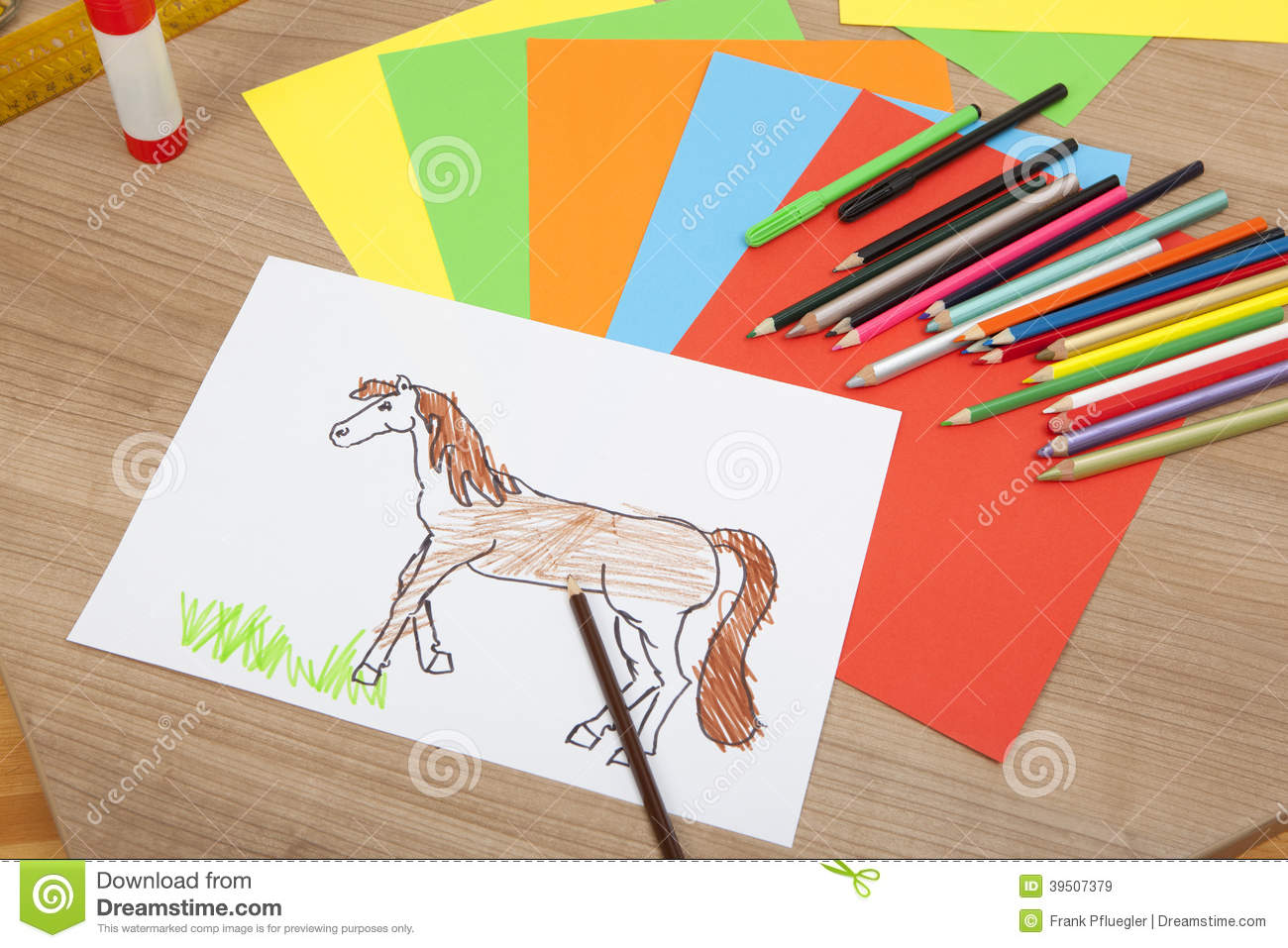 A painted pony