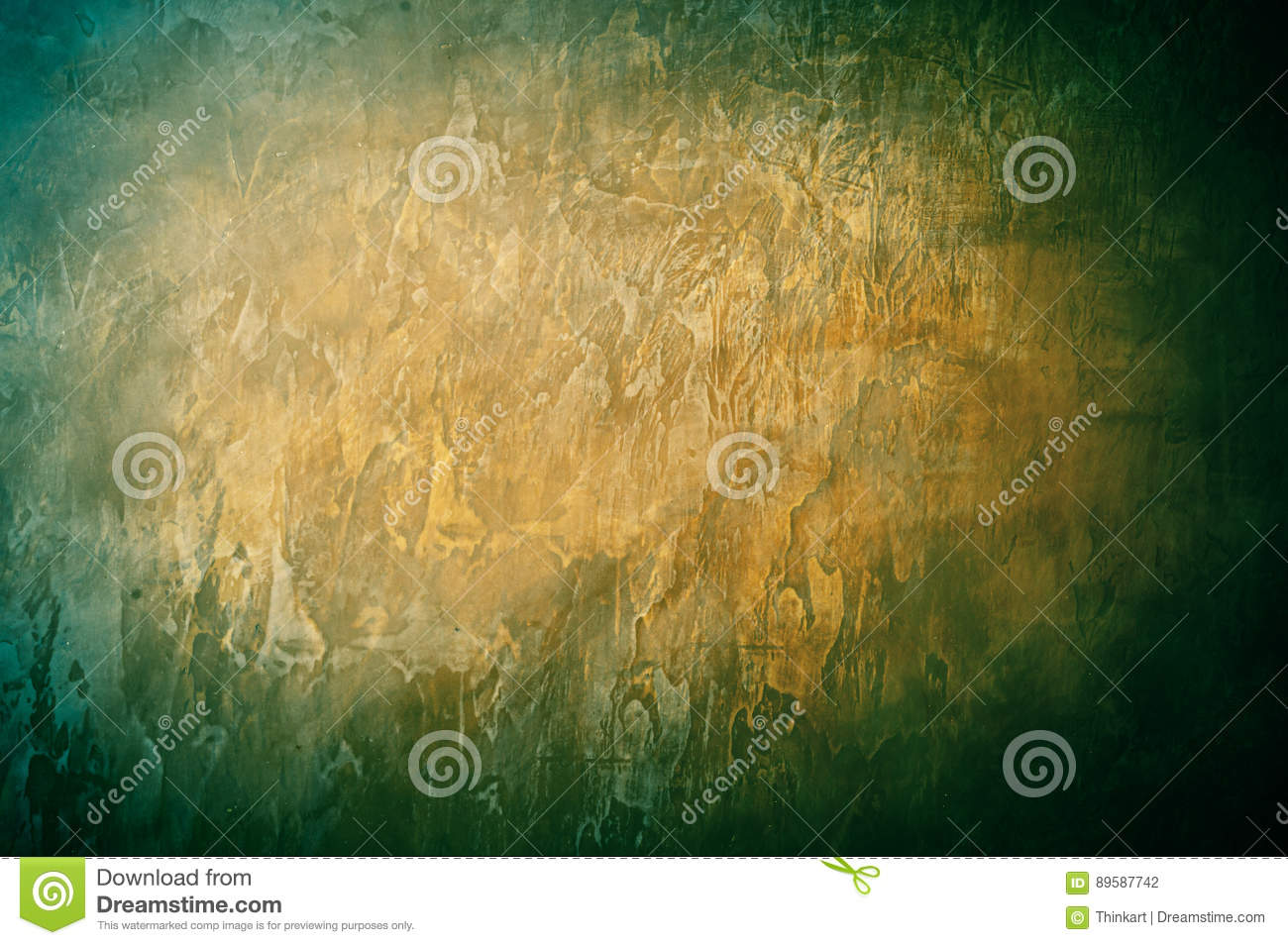 Royal Golden Green Wall Background Stock Photo - Image of majestic ...