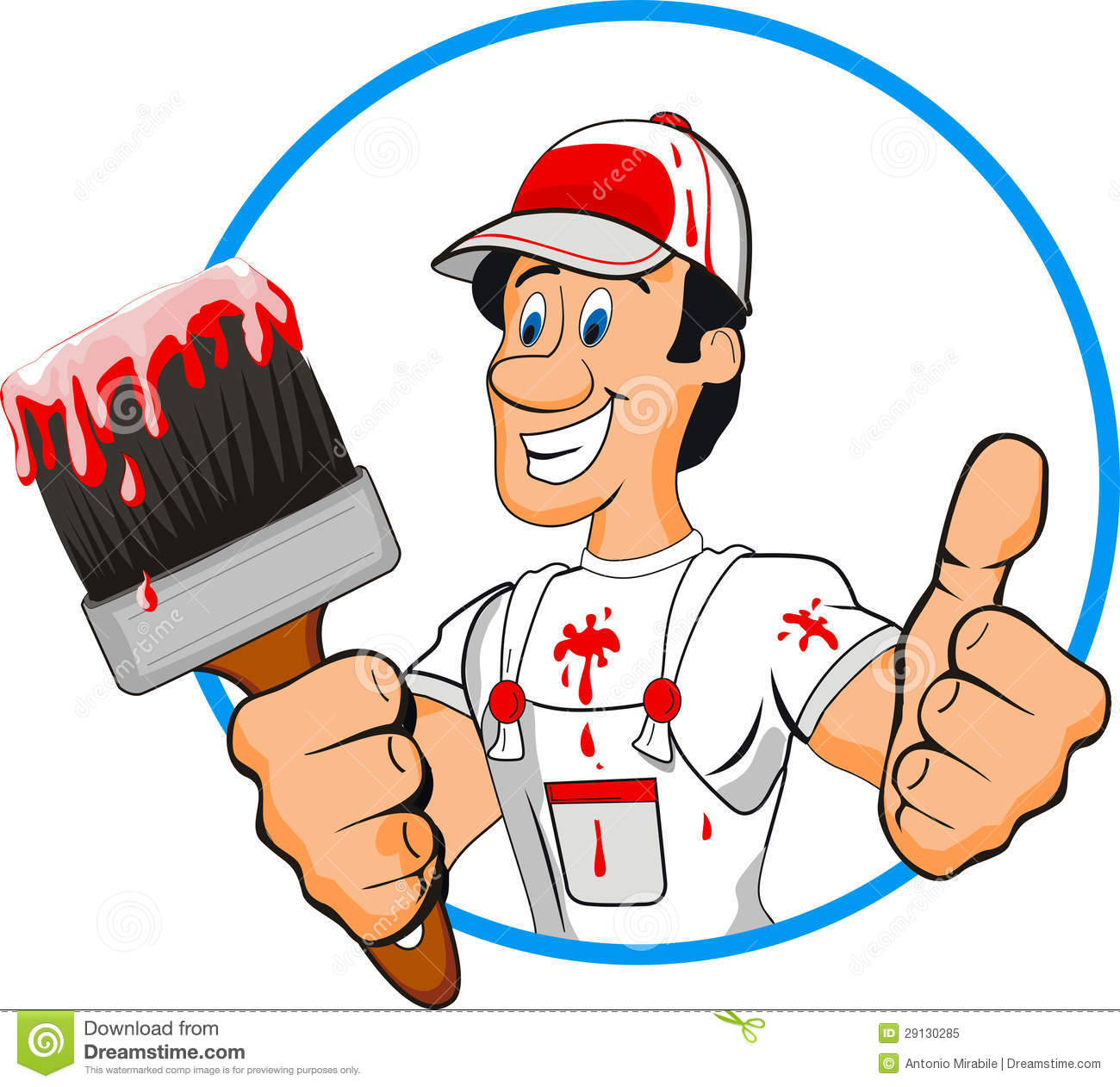 Painter Royalty Free Stock Photo Image 29130285