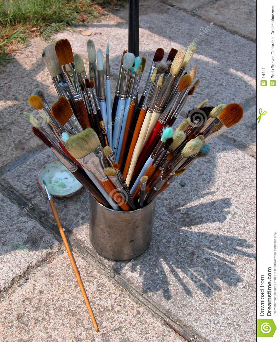 Painter brushes
