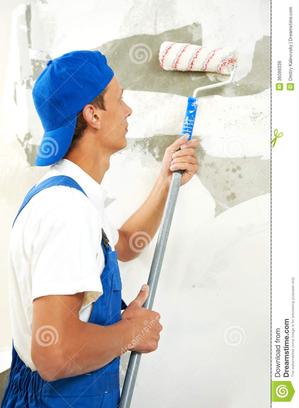 Painter And Decorator Prices >> Painter At Home Renovation Work With Prime Royalty Free Stock Images - Image: 36099339