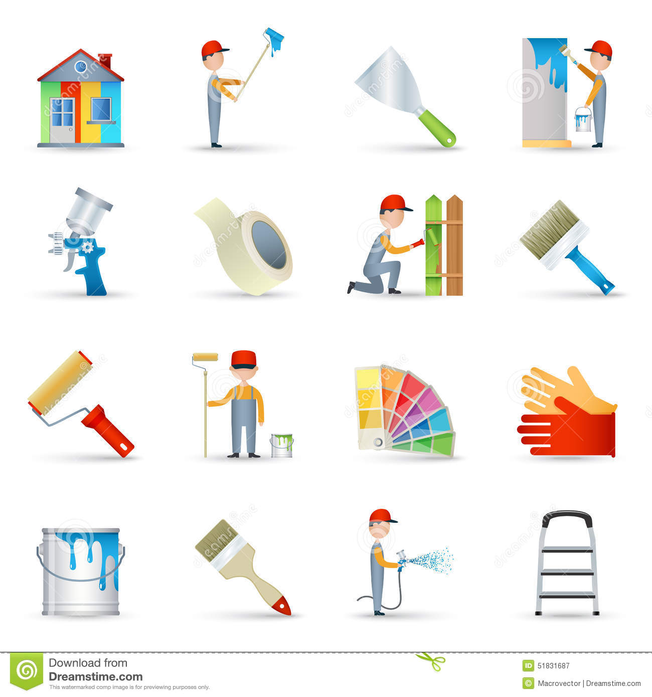 Wall Painting Vector