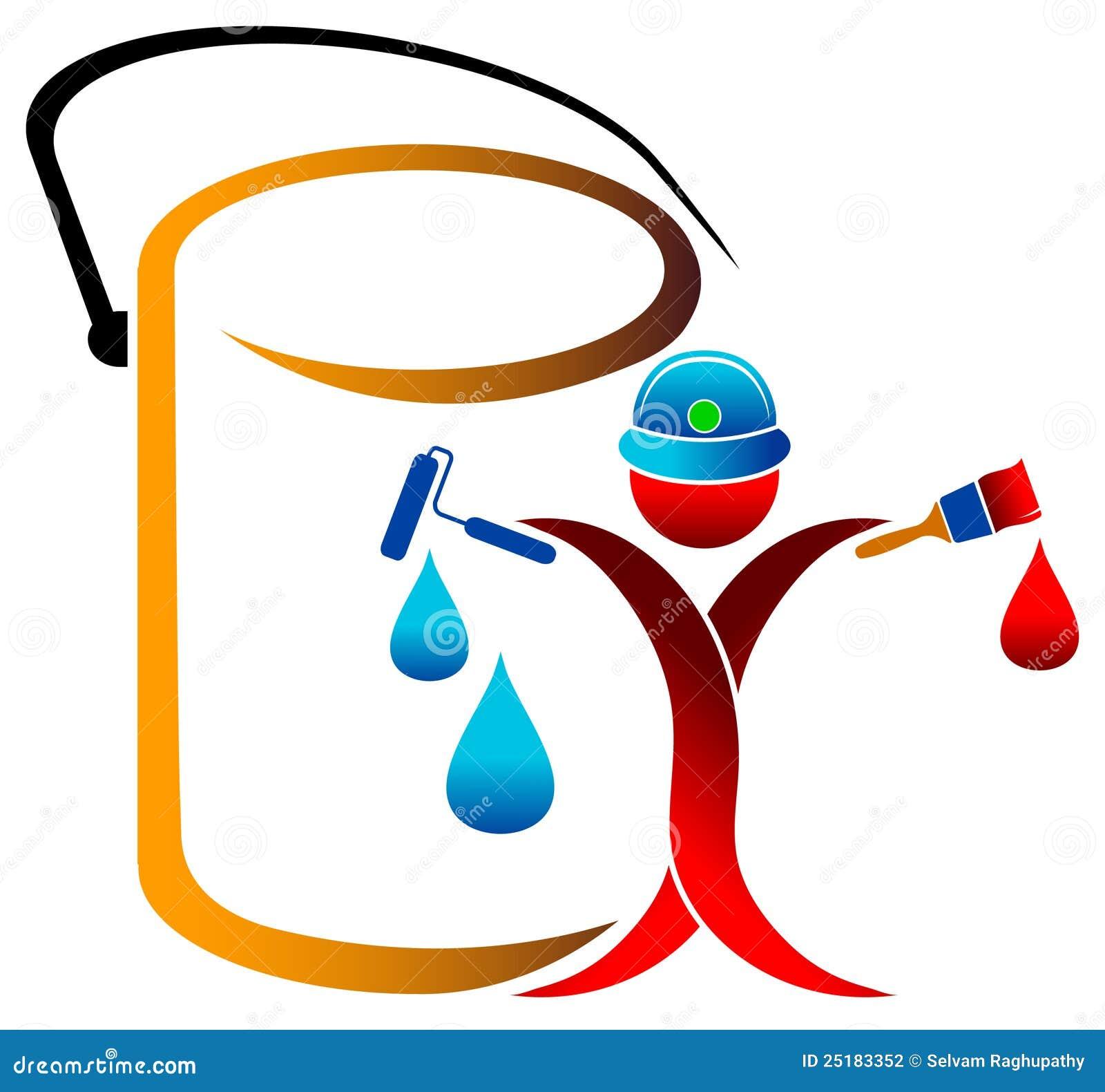 Painter Logo Stock Photography Image 25183352