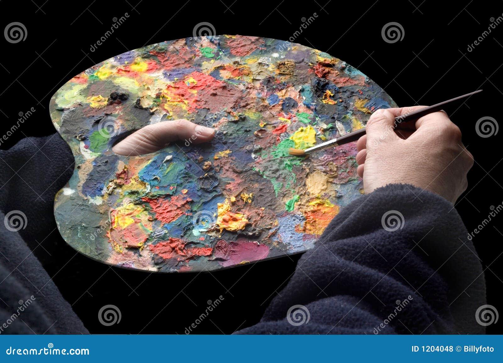Painters pallet