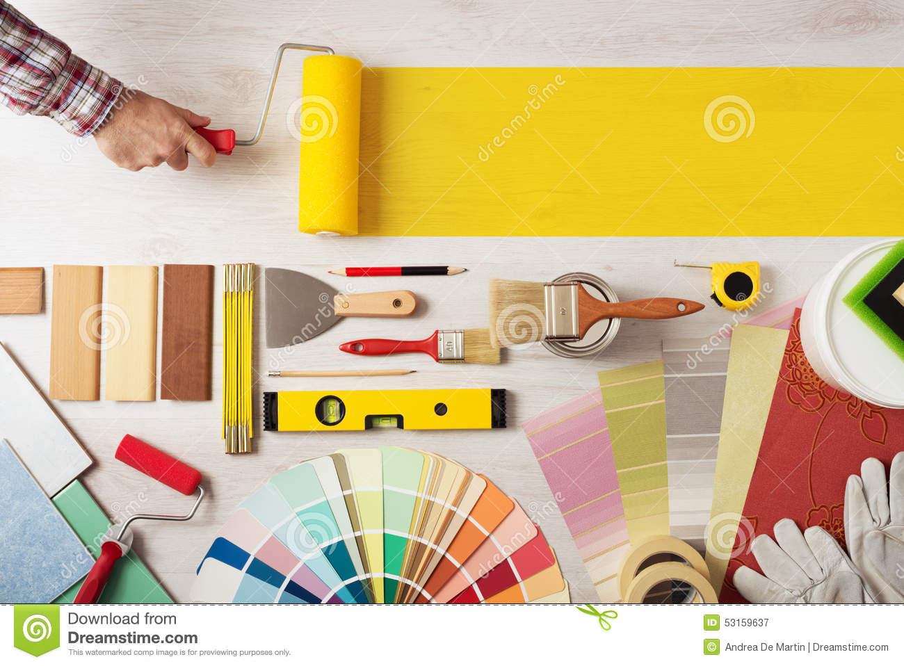 Painting And Decorating Diy Banner Stock Image Image Of Renovation Hands 53159637,Standard House Brick Dimensions