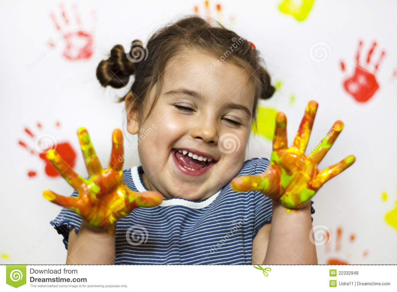 Painting is fun for kid