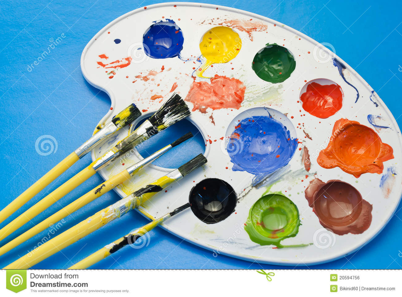 Painting kit stock photo image of variety design education royalty free stock photo download painting kit sciox Images