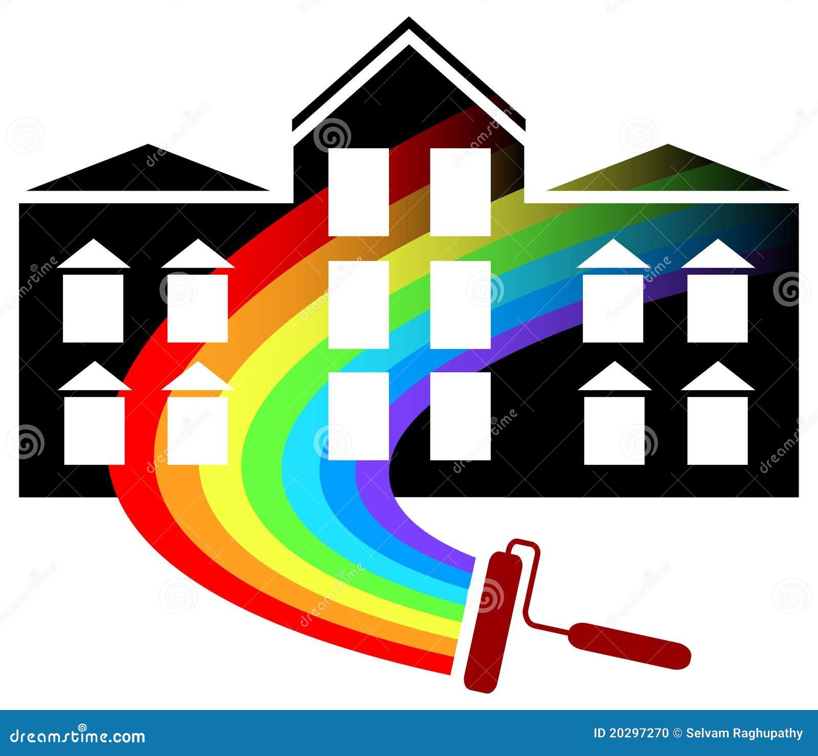 Painting Logo Design Stock Photo Image 20297270