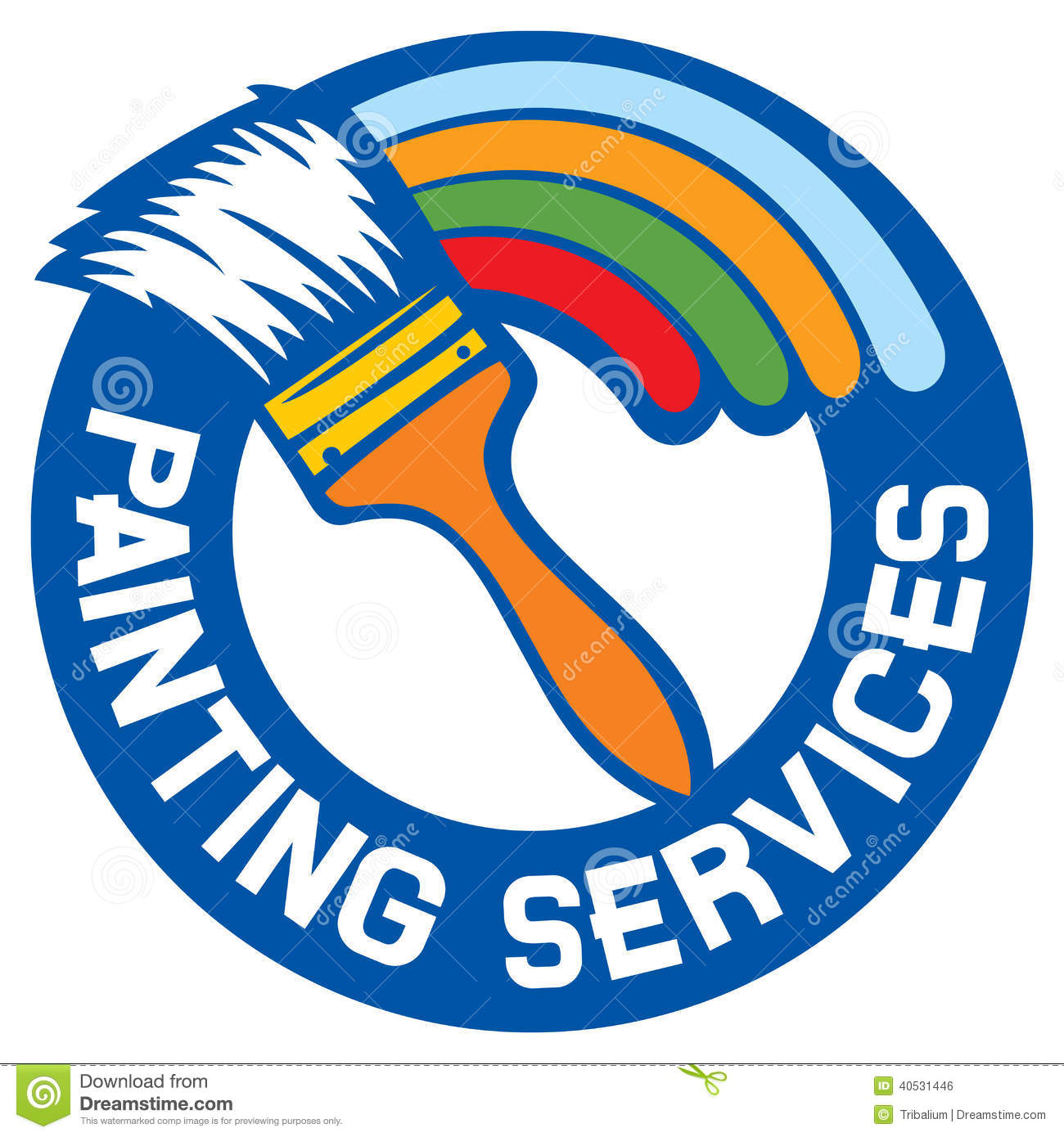 Painting Services Stock Vector - Image: 40531446