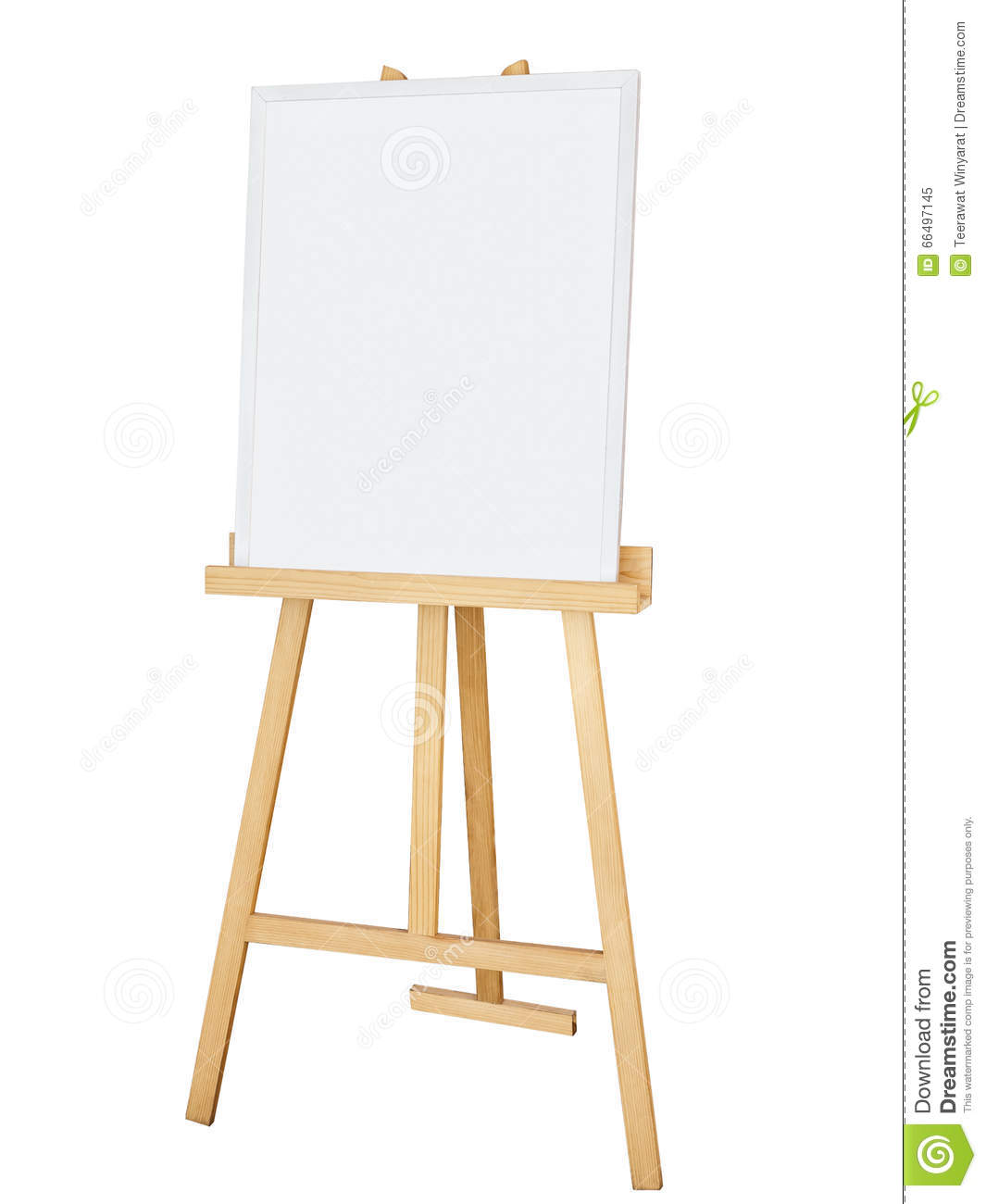 Painting Canvas Painting Stand Wooden Easel With Blank Canvas Poster Sign Board