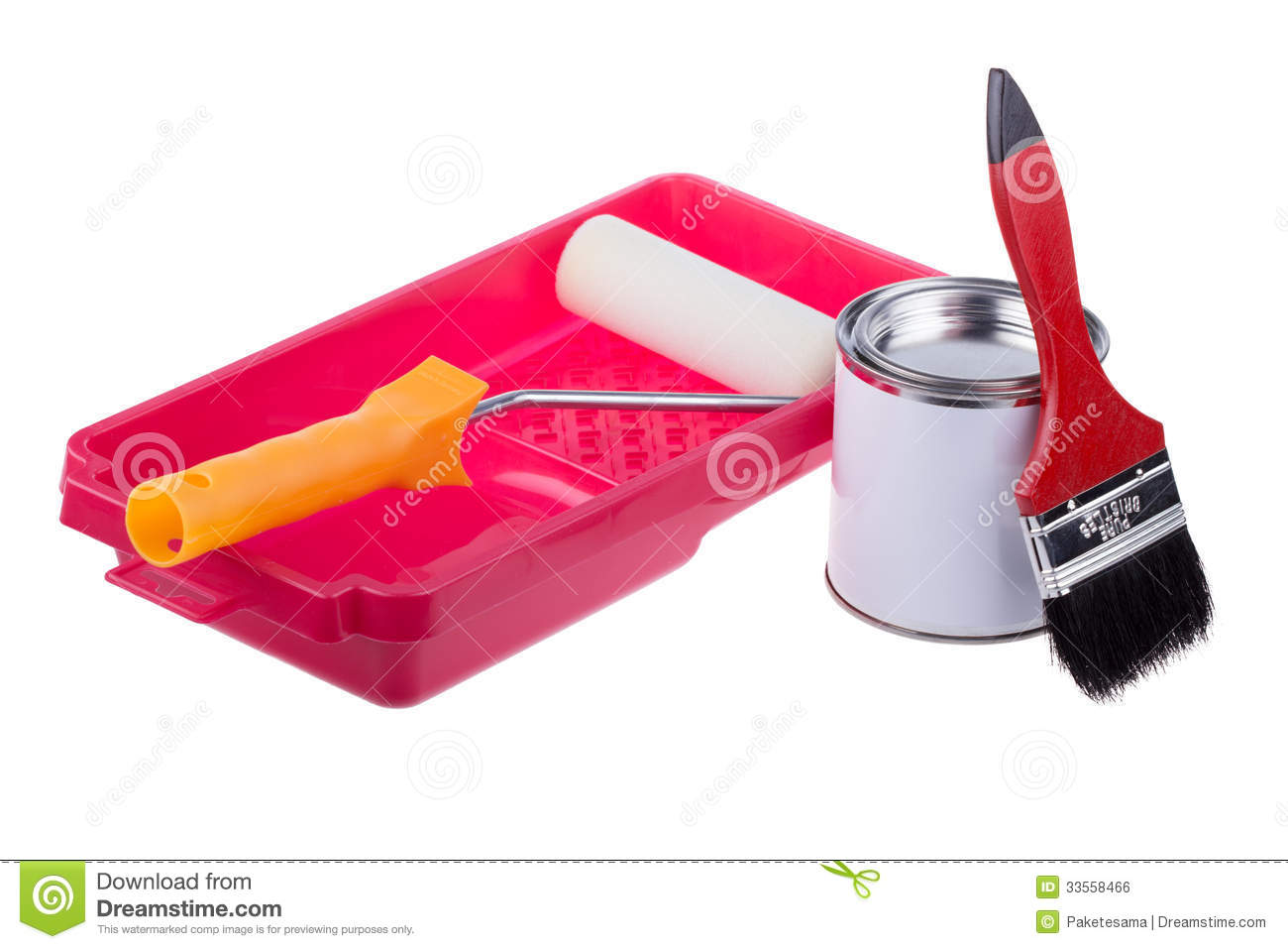 Painting Tools Royalty Free Stock Image Image 33558466