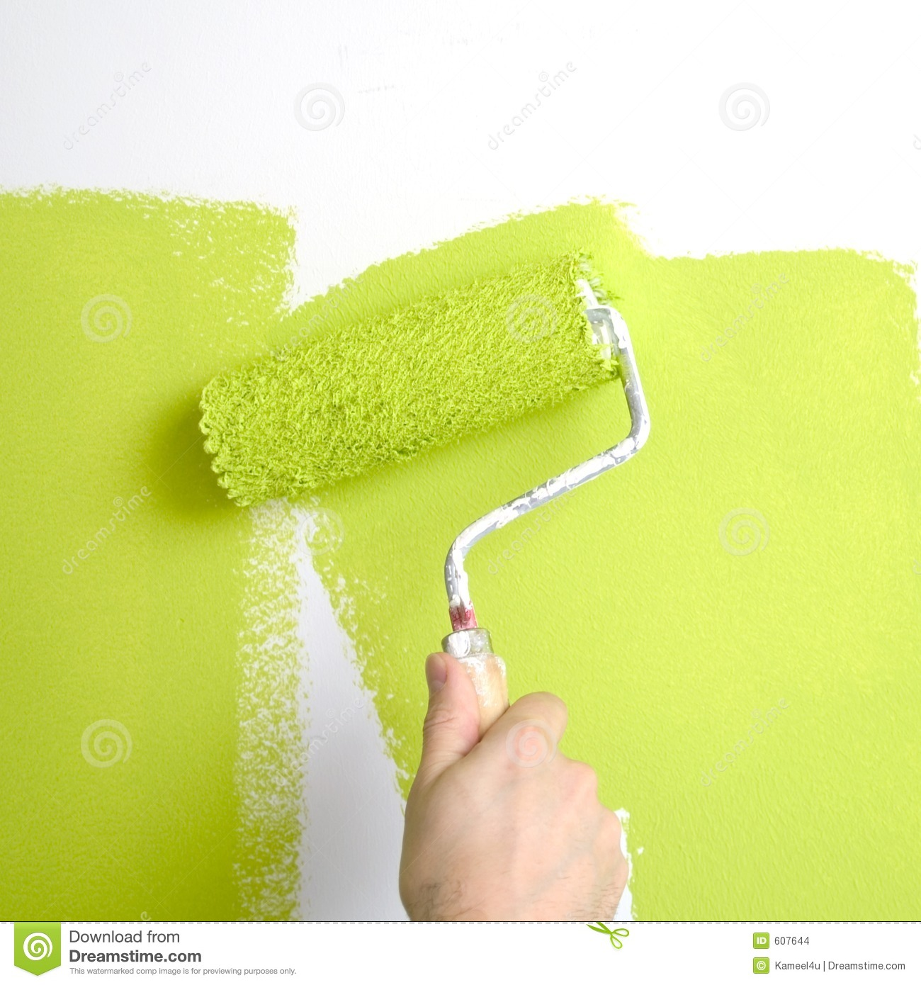 painting a wall stock images - image: 607644