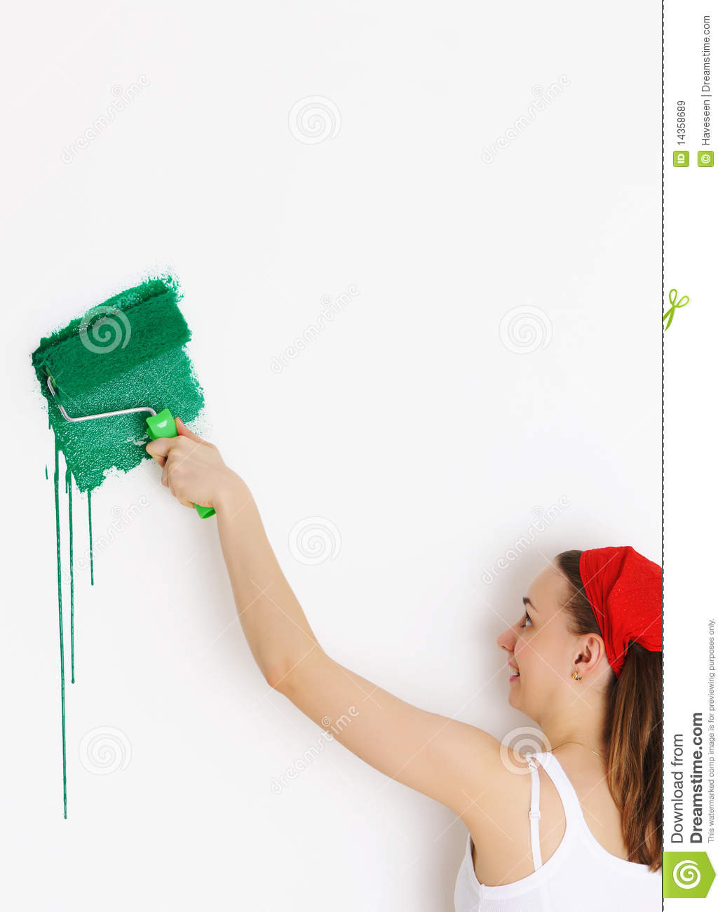 Painting Walls Royalty Free Stock Images Image 14358689