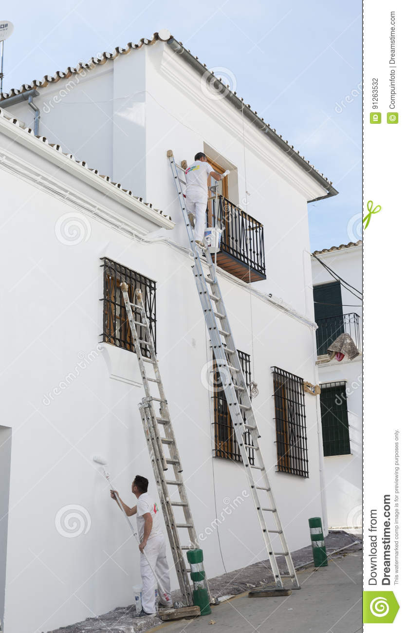 People painting houses - Andalusia Houses Painting