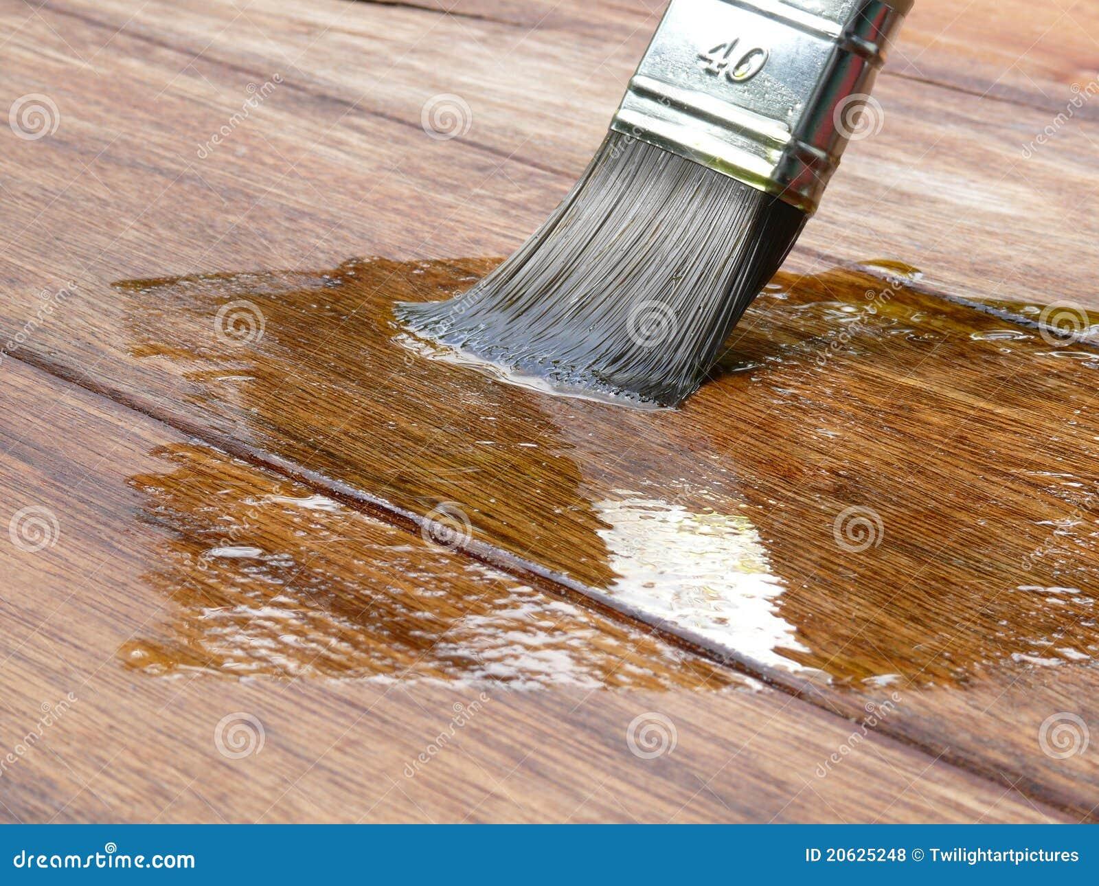 Acrylic Painting On Raw Wood