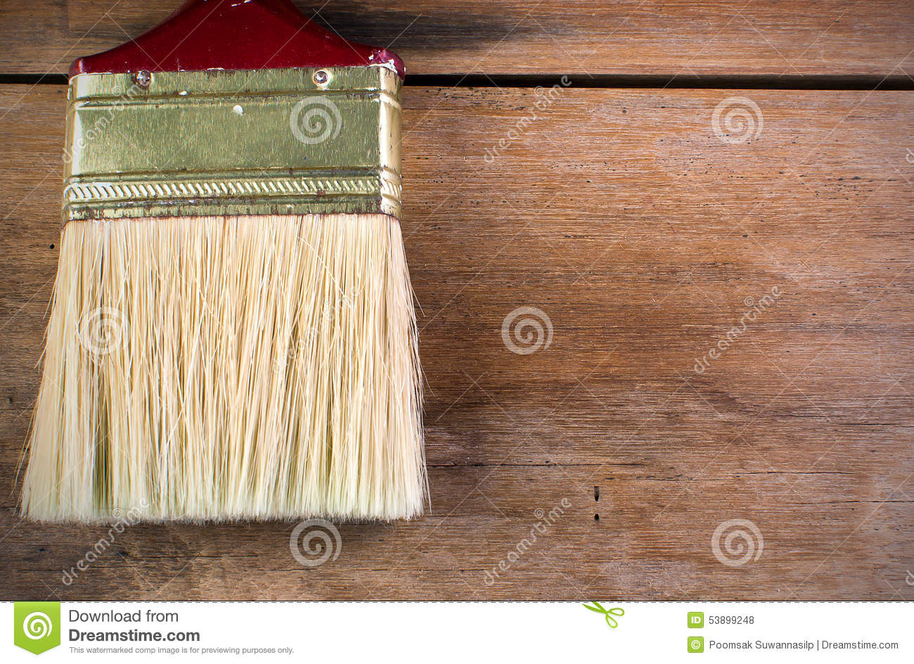 Painting Wood Furniture Stock Photography