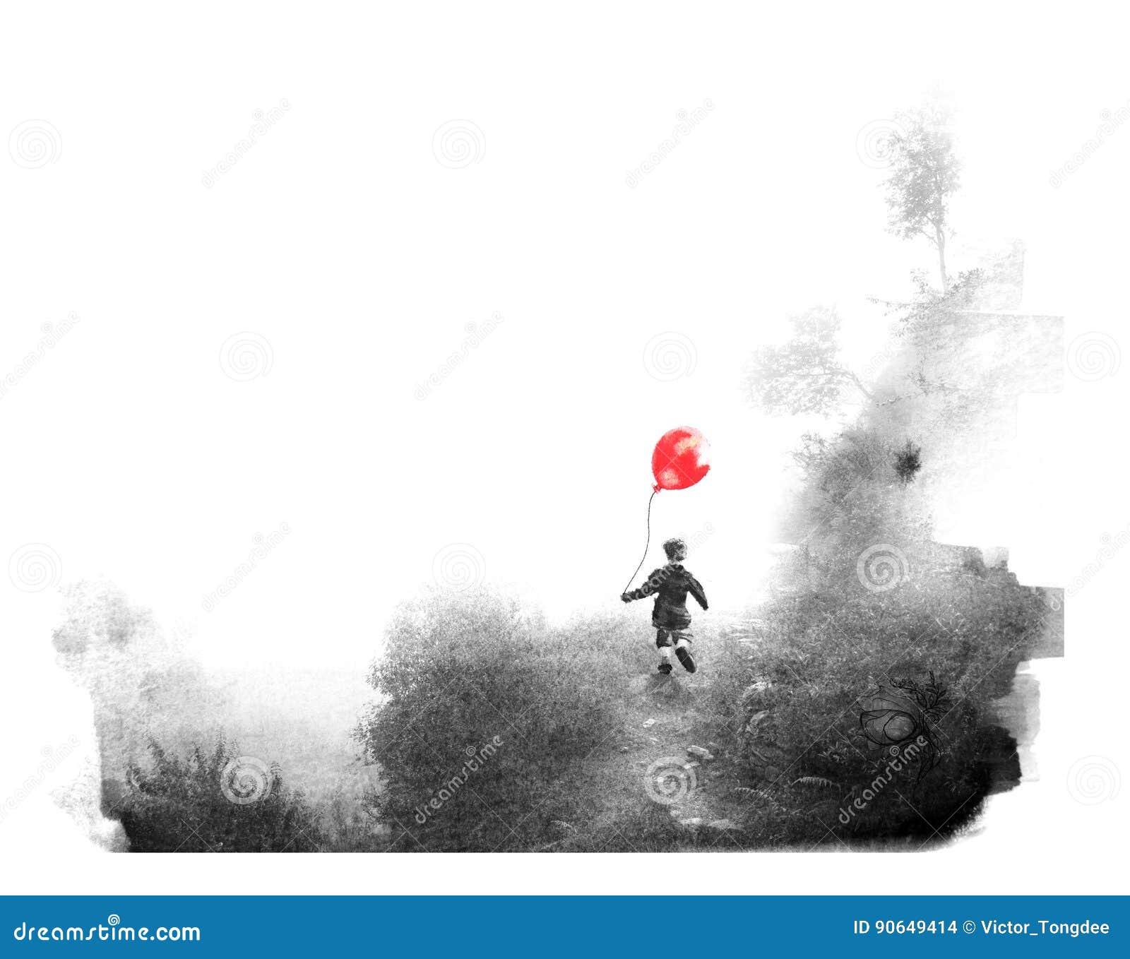 Paintography, een foto met een tekening wordt gecombineerd die