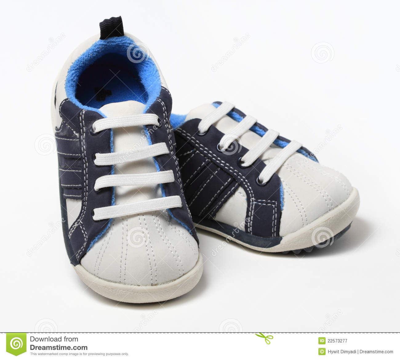 Pair Of Baby Boy Shoes Royalty Free Stock Photography ...