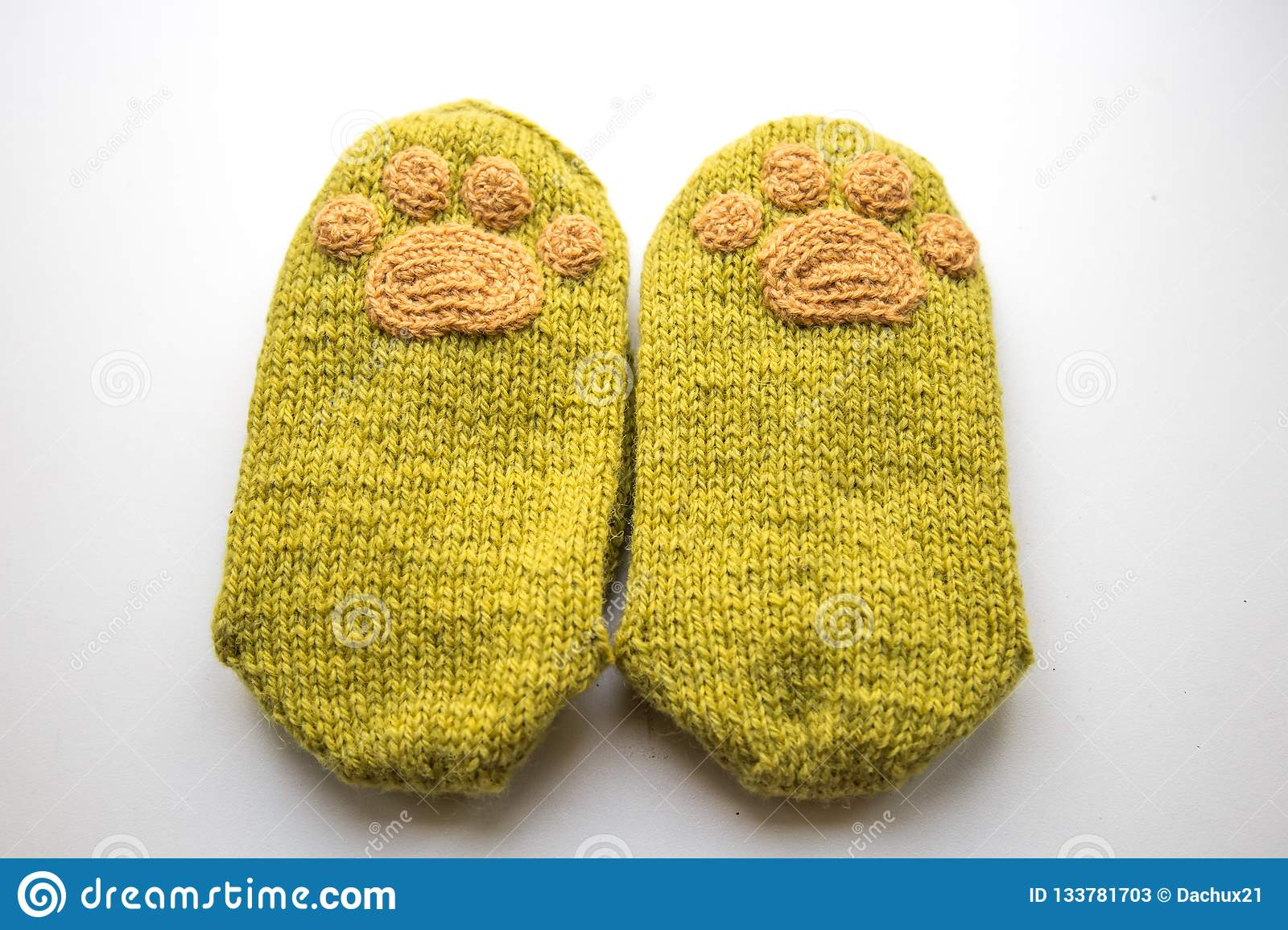 9537e1d7cc363 A Pair Of Beautiful, Warm Hand Knitted Wool Socks From A Natural ...