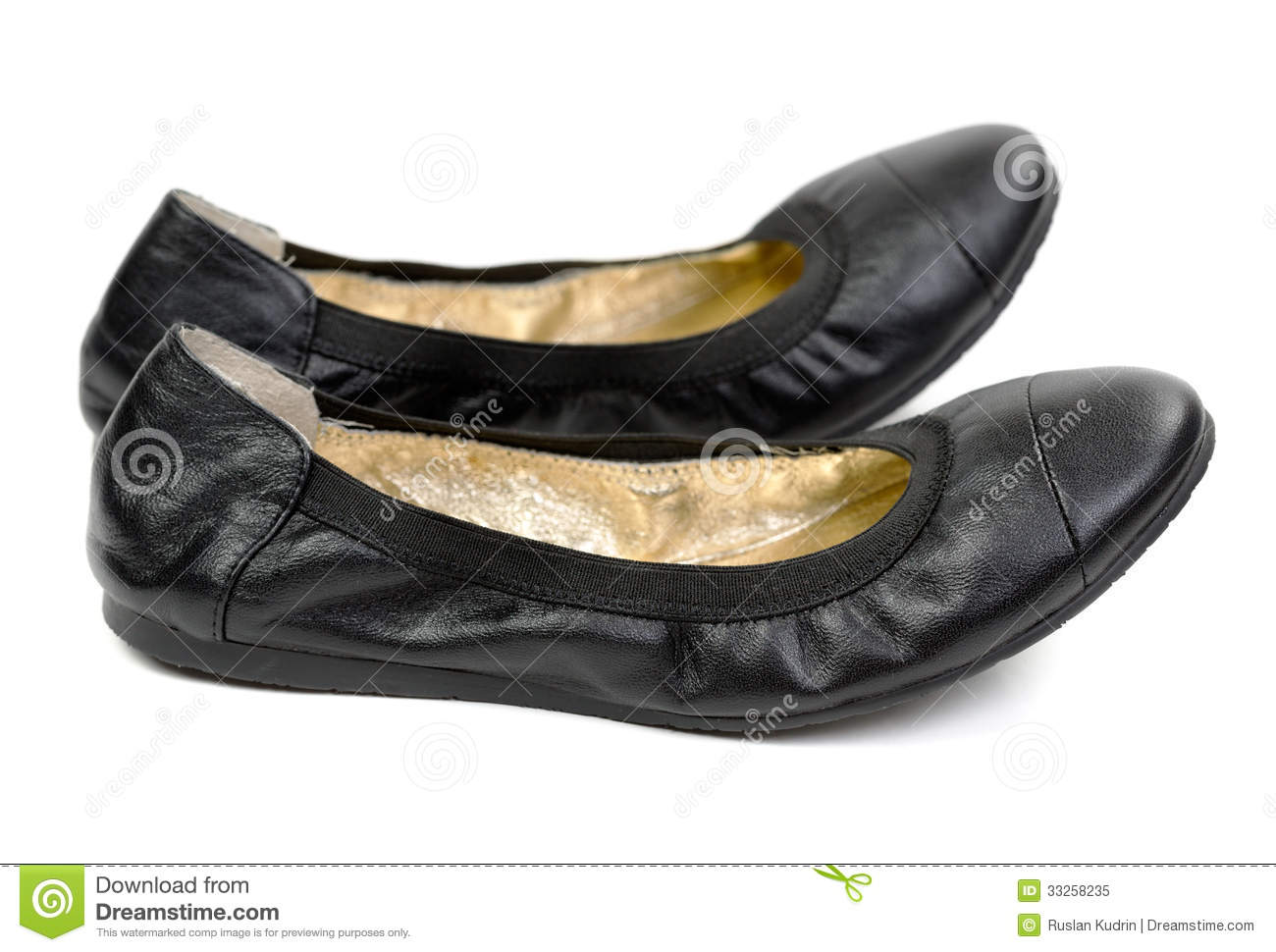 Pair Of Black Leather Shoes Ballet Flats Royalty Free Stock ... Keep Calm And Be Yourself