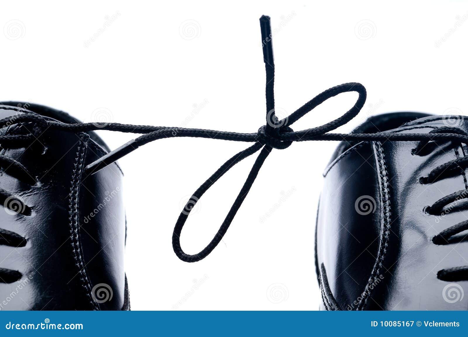 Black Business Shoe Laces