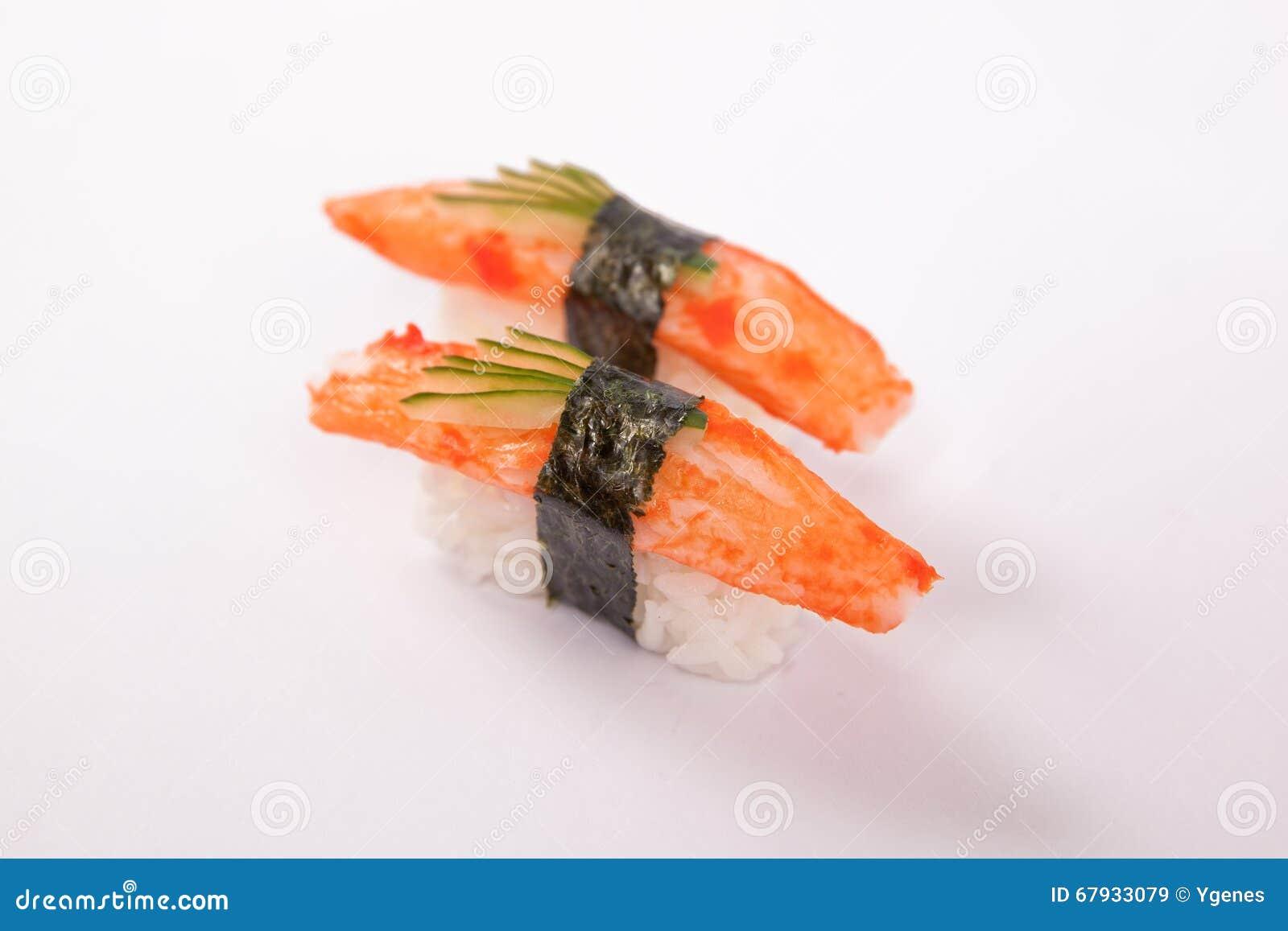 Pair of Crabstick Sushi