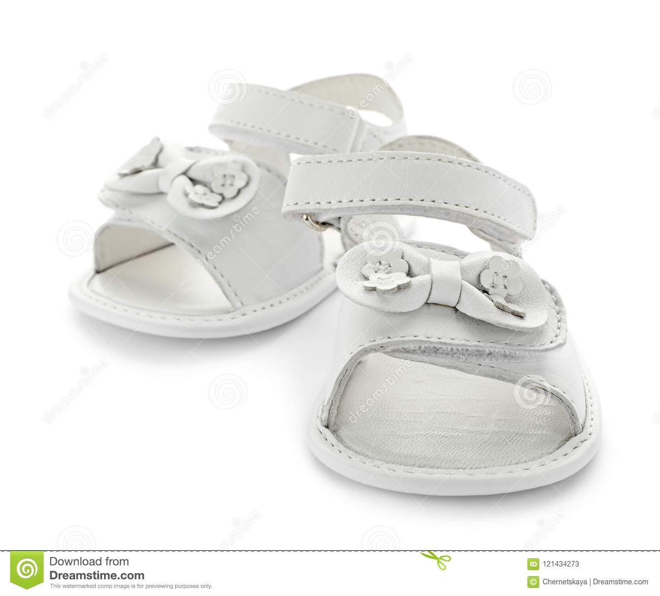 6dd5871c6355ef Pair of cute baby sandals stock image. Image of strap - 121434273