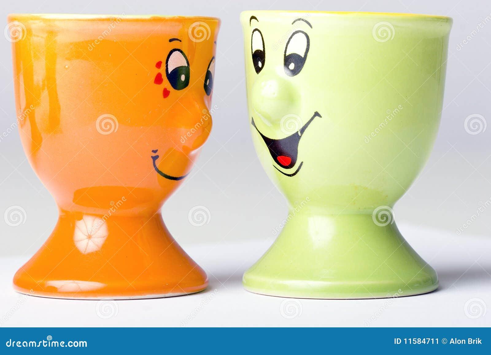 Pair of egg holders