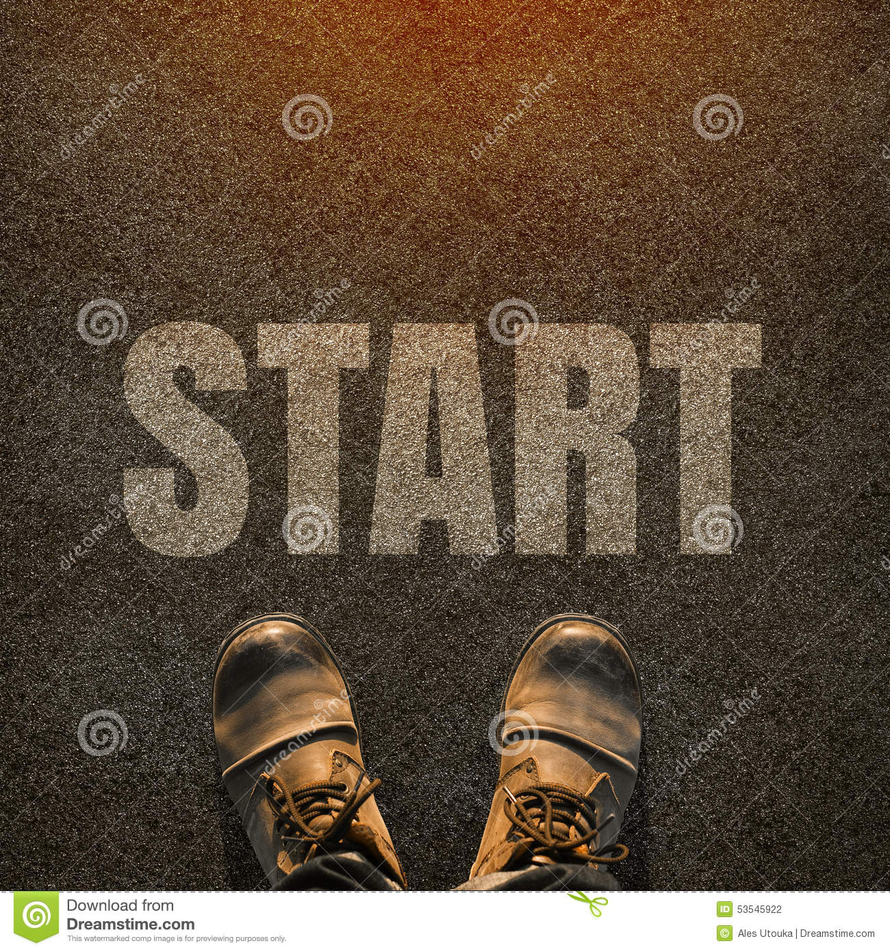 5 letter words starting with sta a pair of on a tarmac road with white print of the 26066 | pair feet tarmac road white print word sta start concept starting point start concept background 53545922