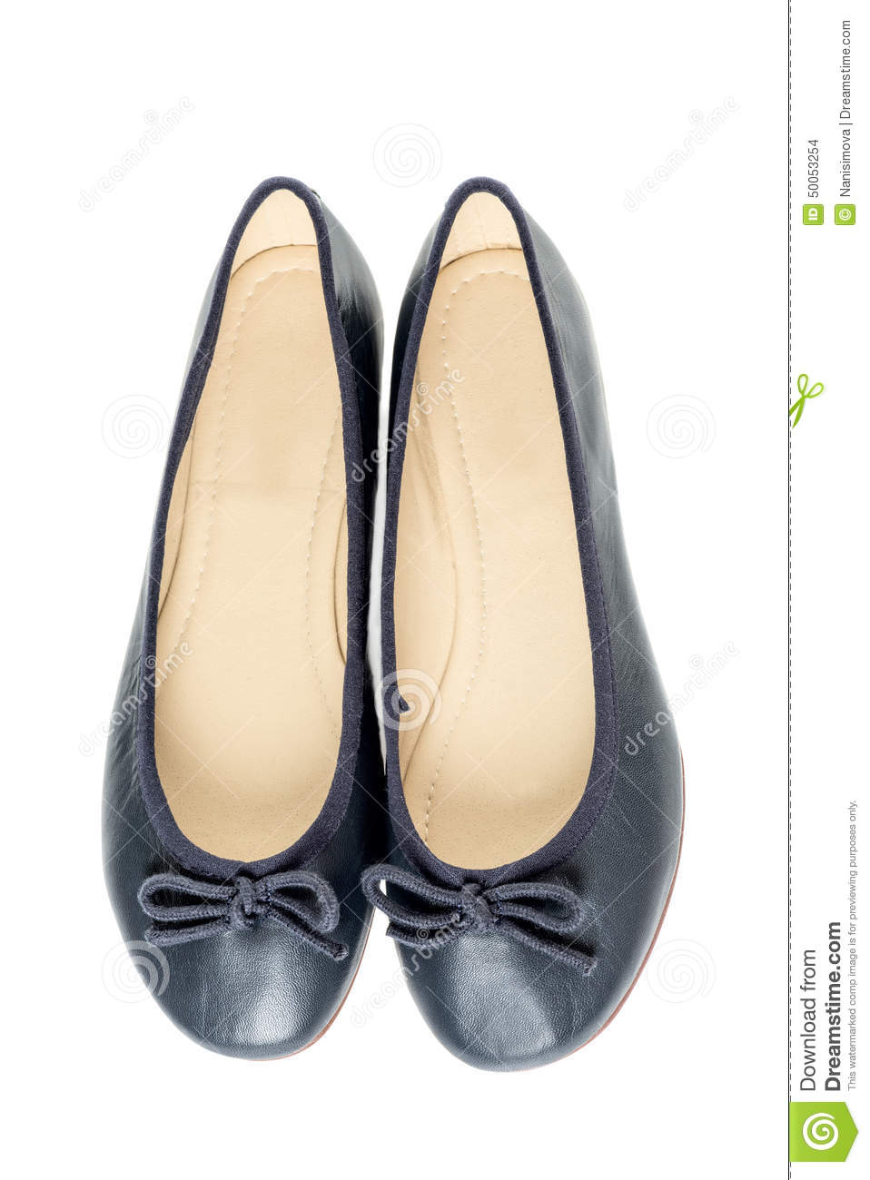 85633c844 Pair of female shoes over white background. More similar stock images