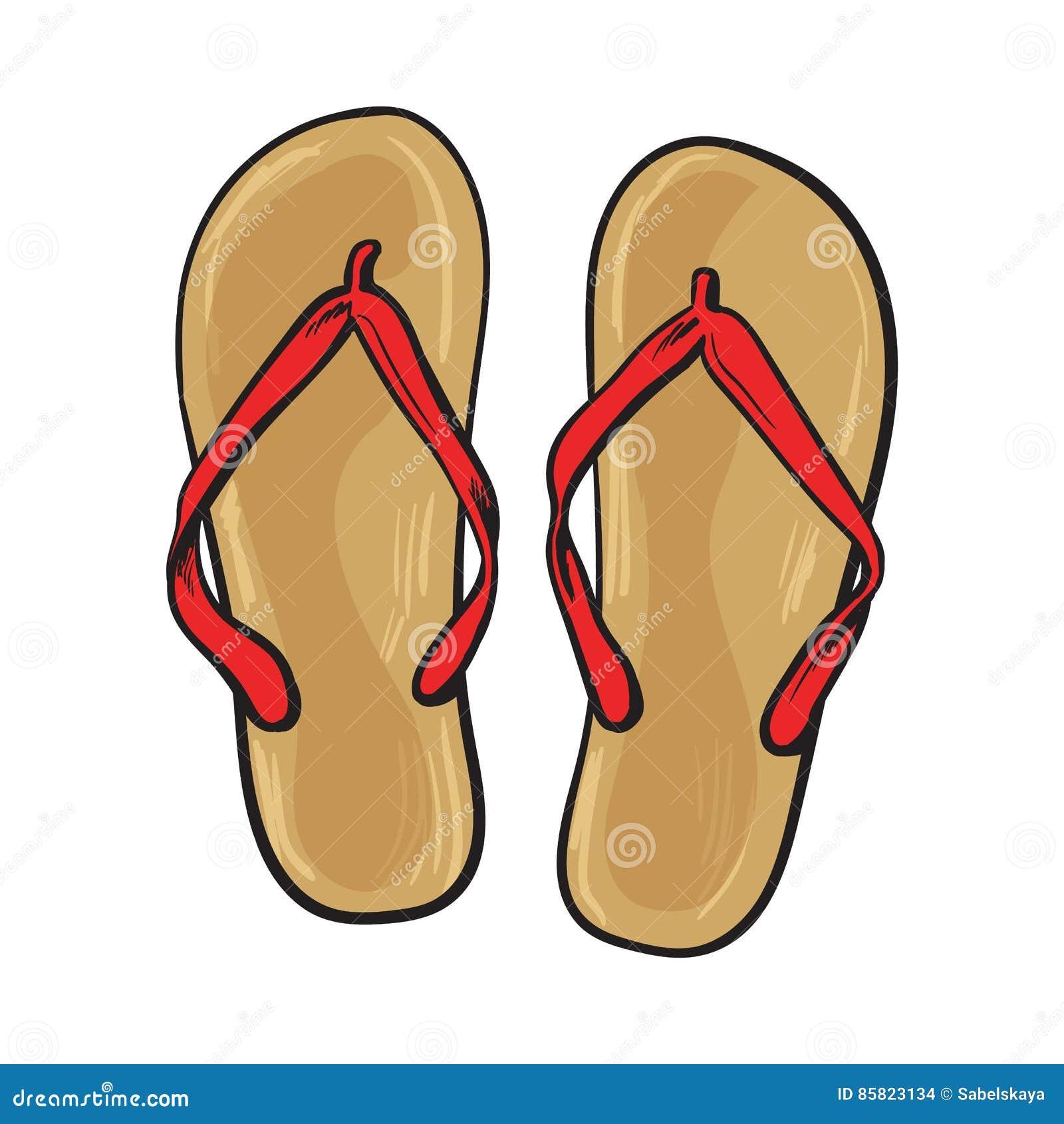 bda13949ce56 Pair Of Flip Flops