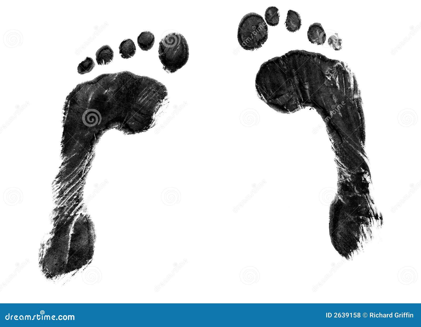 Pair Of Footprints Royalty Free Stock Photos Image 2639158