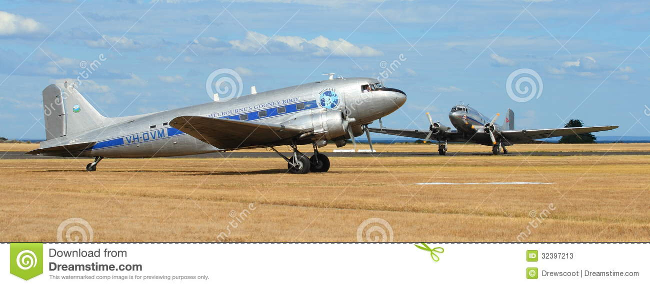 Point Cook Australia  City new picture : POINT COOK, AUSTRALIA FEBRUARY 26: Two DC 3s, former RAAF transport ...