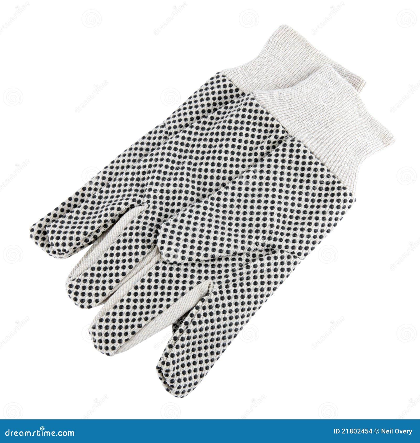 background cutout gardening gloves