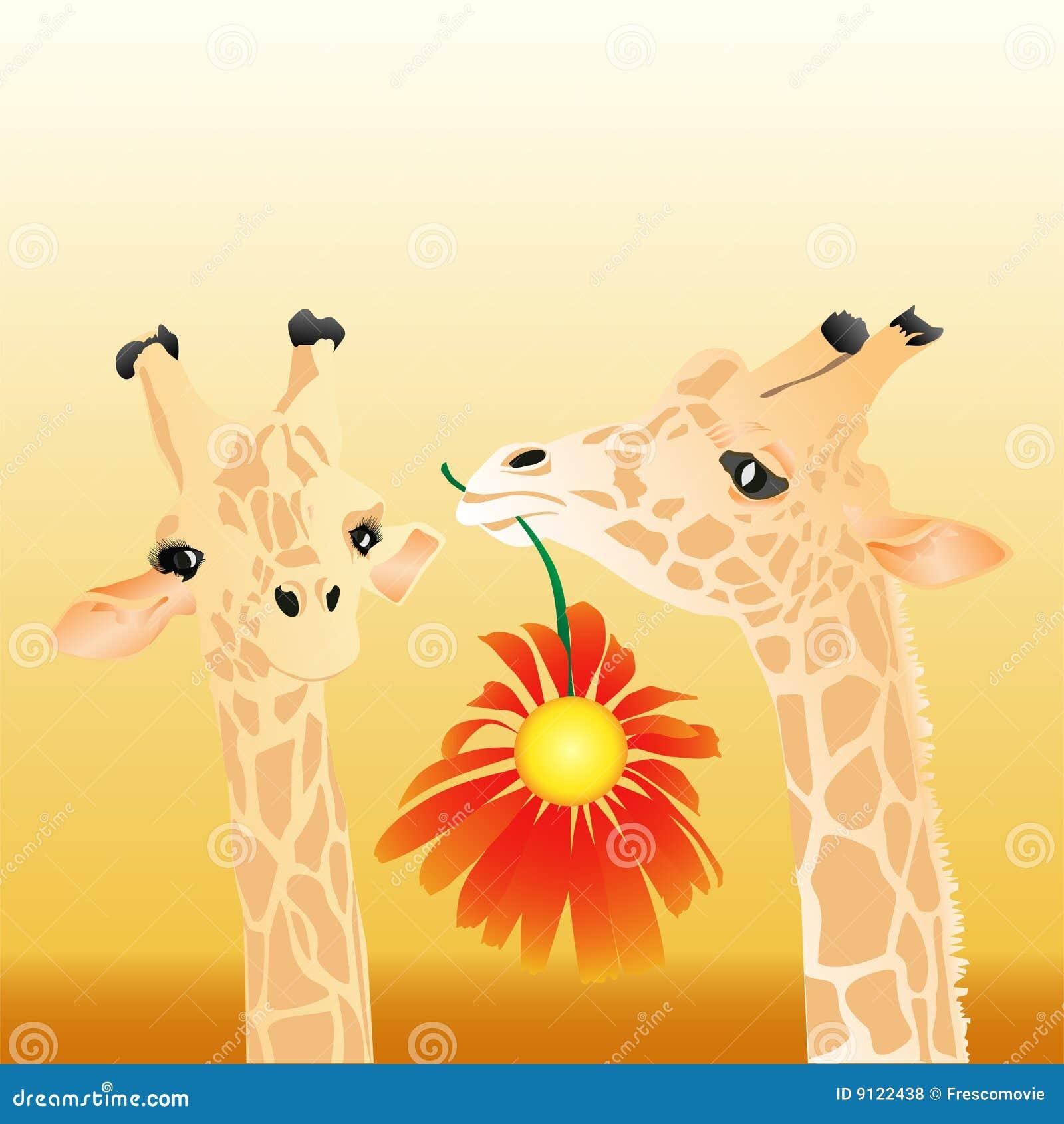 Картинка с жирафом и надписью, 101
