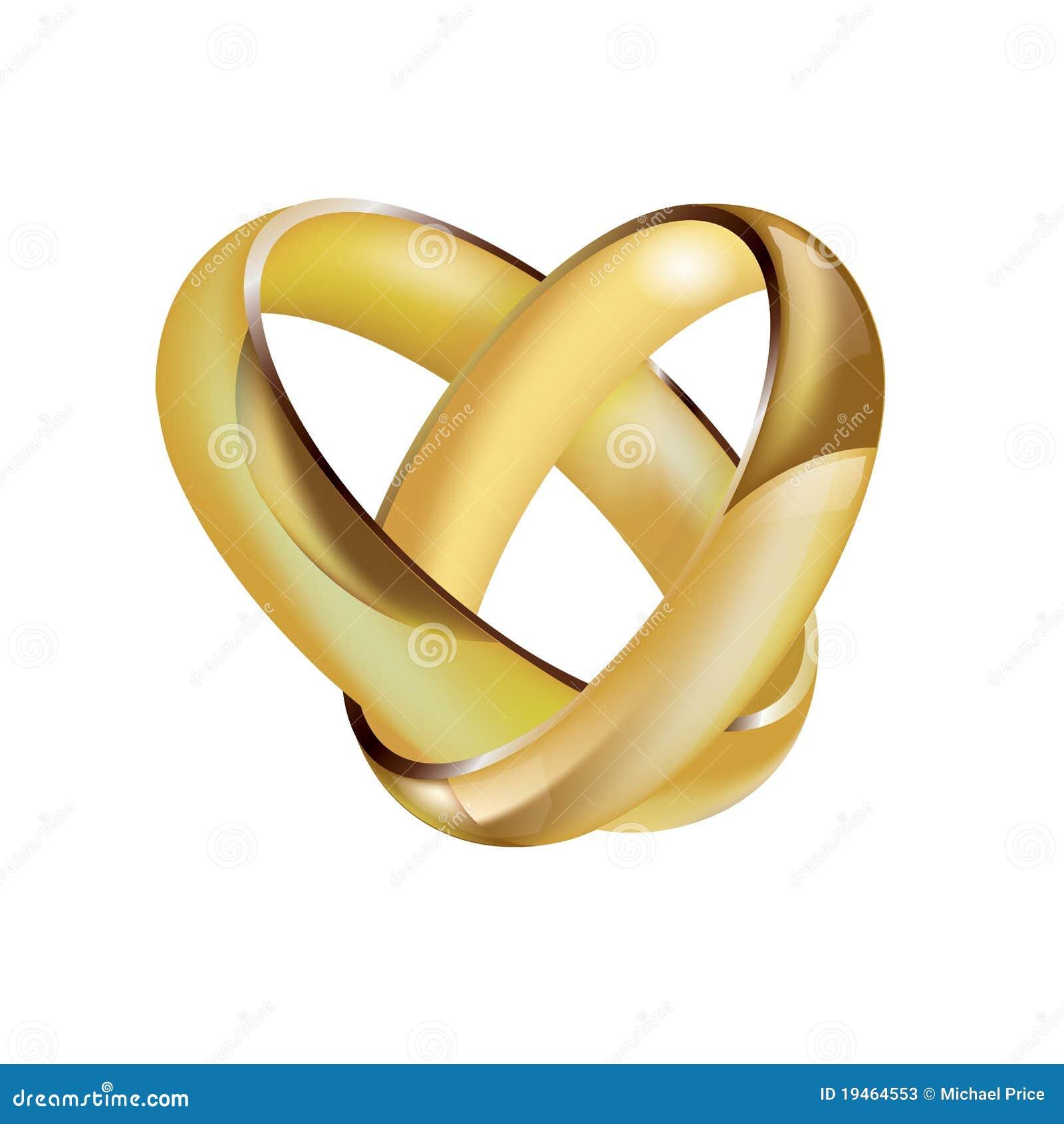 Weddings Rings Vector