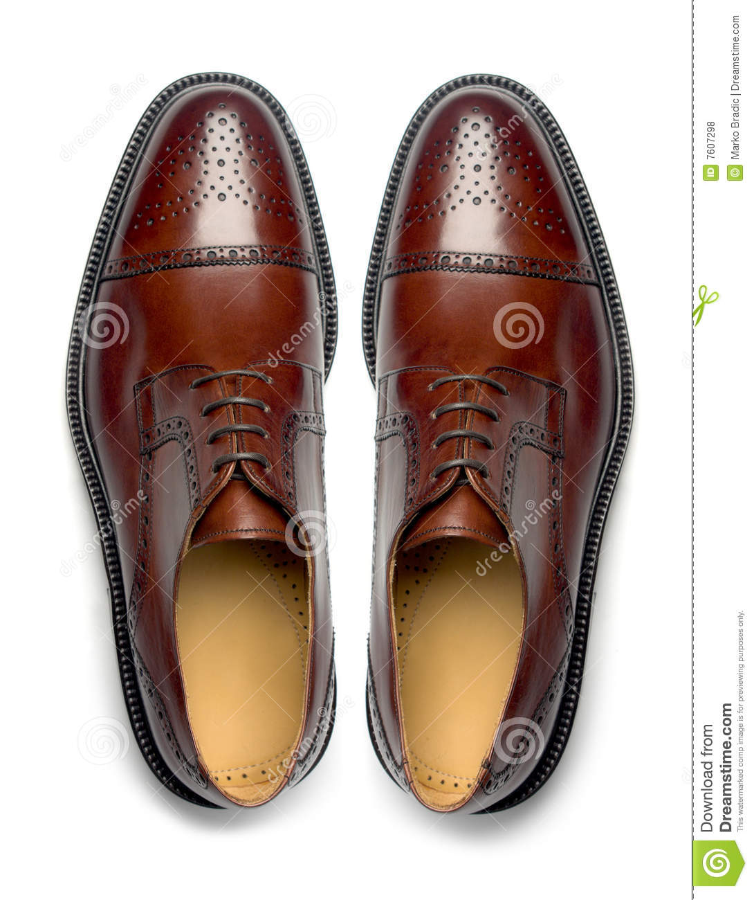 Pair Of Men U0026 39 S Shoes Stock Photo  Image Of Brown  Isolated