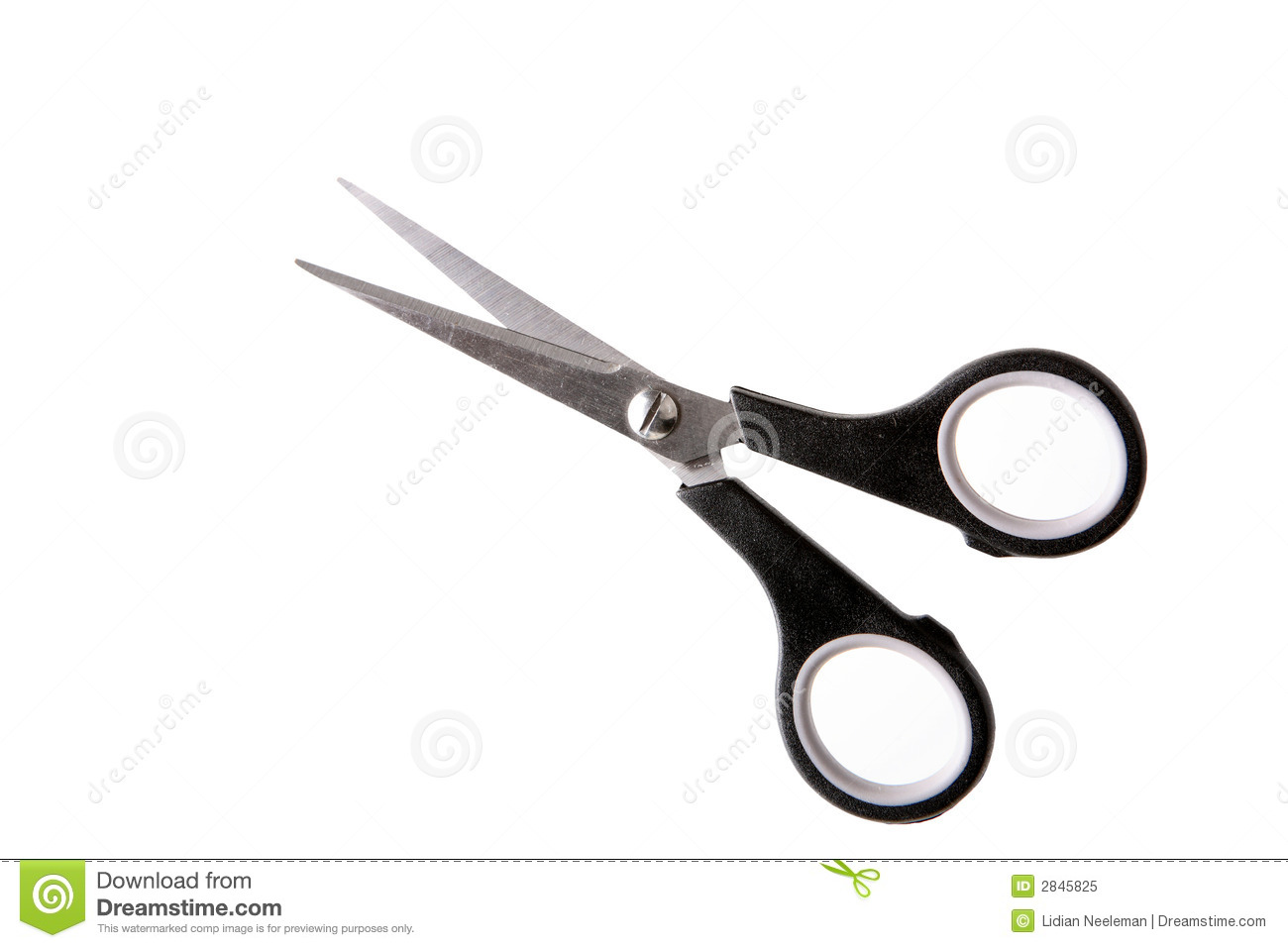 Pair Of Scissors Royalty Free Stock Photo Image 2845825