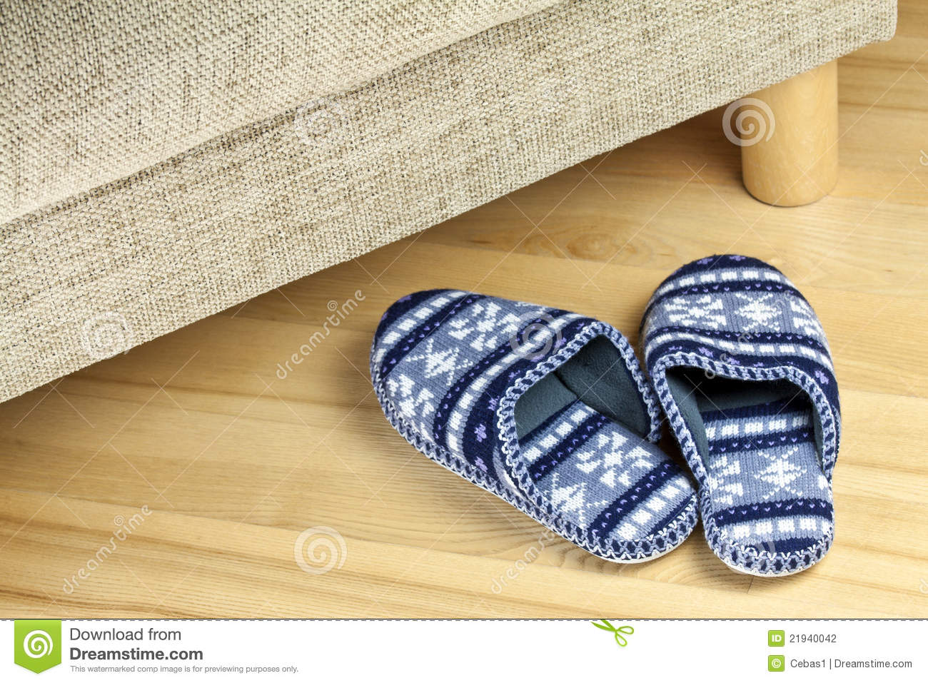 Download A pair of slippers stock photo. Image of pair, accessory - 21940042