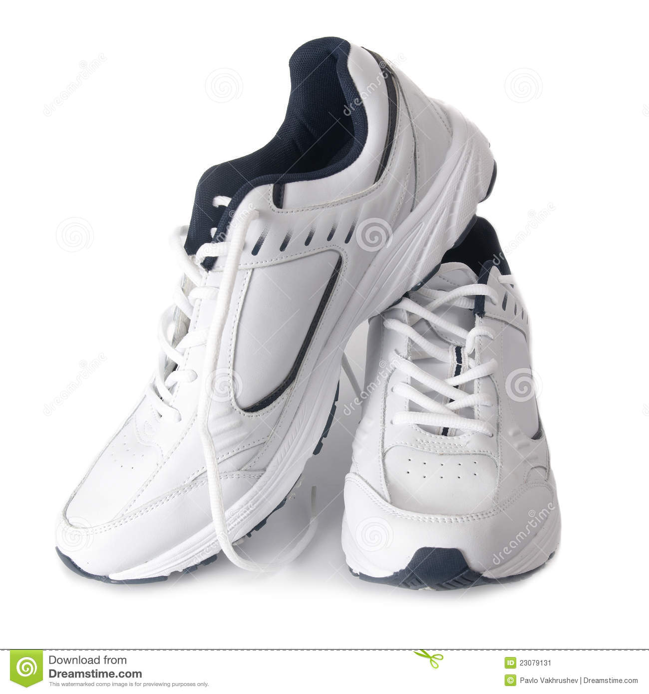 Pair of trainers
