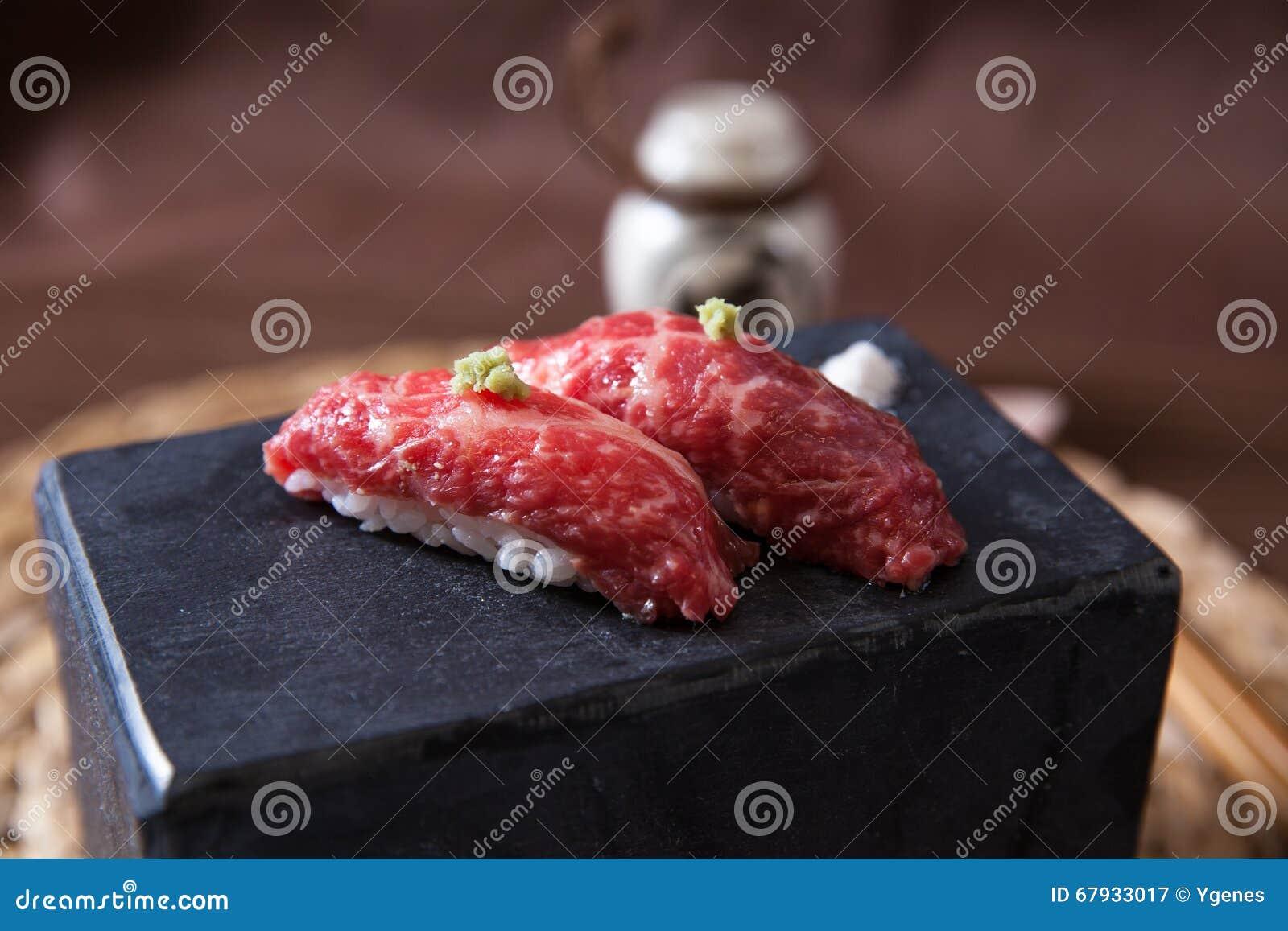 Pair of Wagyu Beef Sushi
