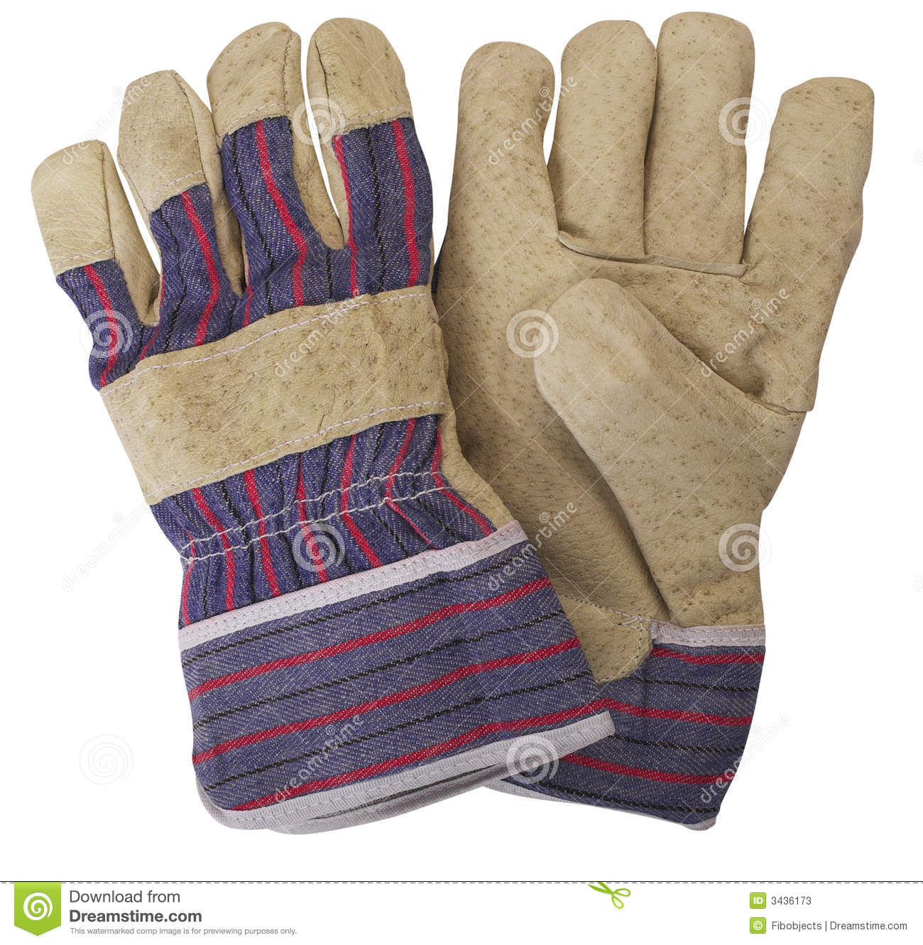 Pair of Working Gloves