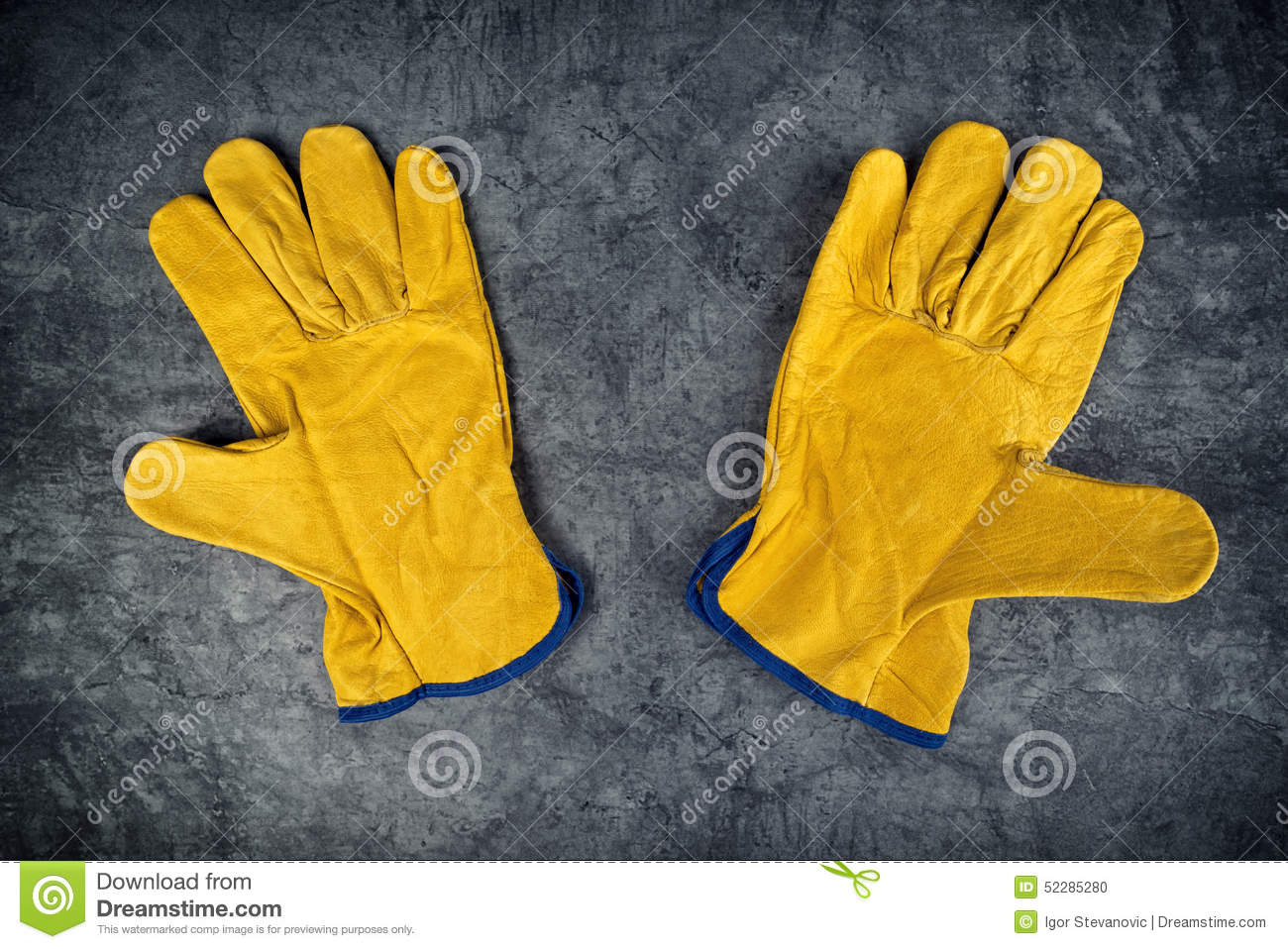 Insulated leather work gloves amazon - Yellow Leather Work Gloves Pair Of Yellow Leather Construction Work Gloves