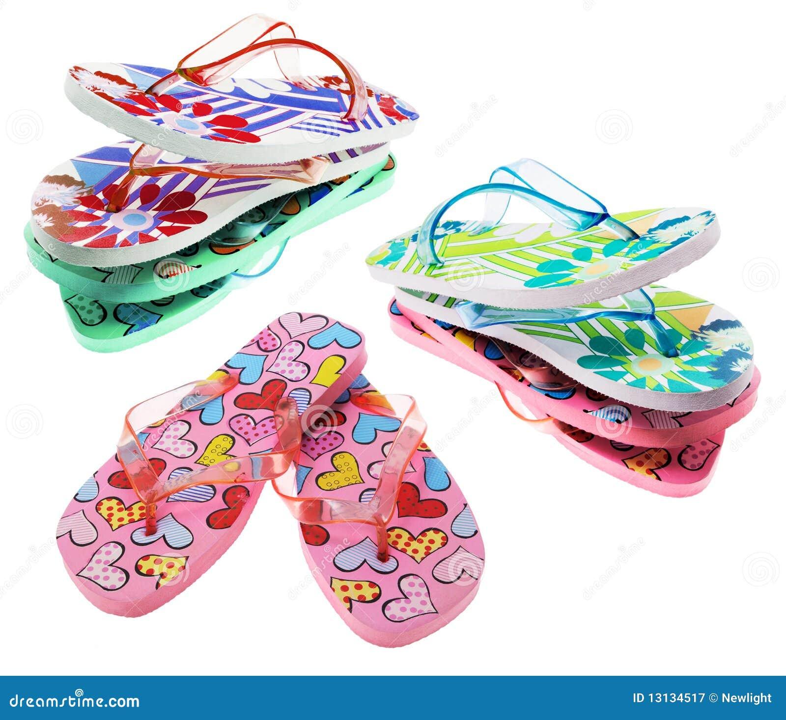 Paires de chaussons