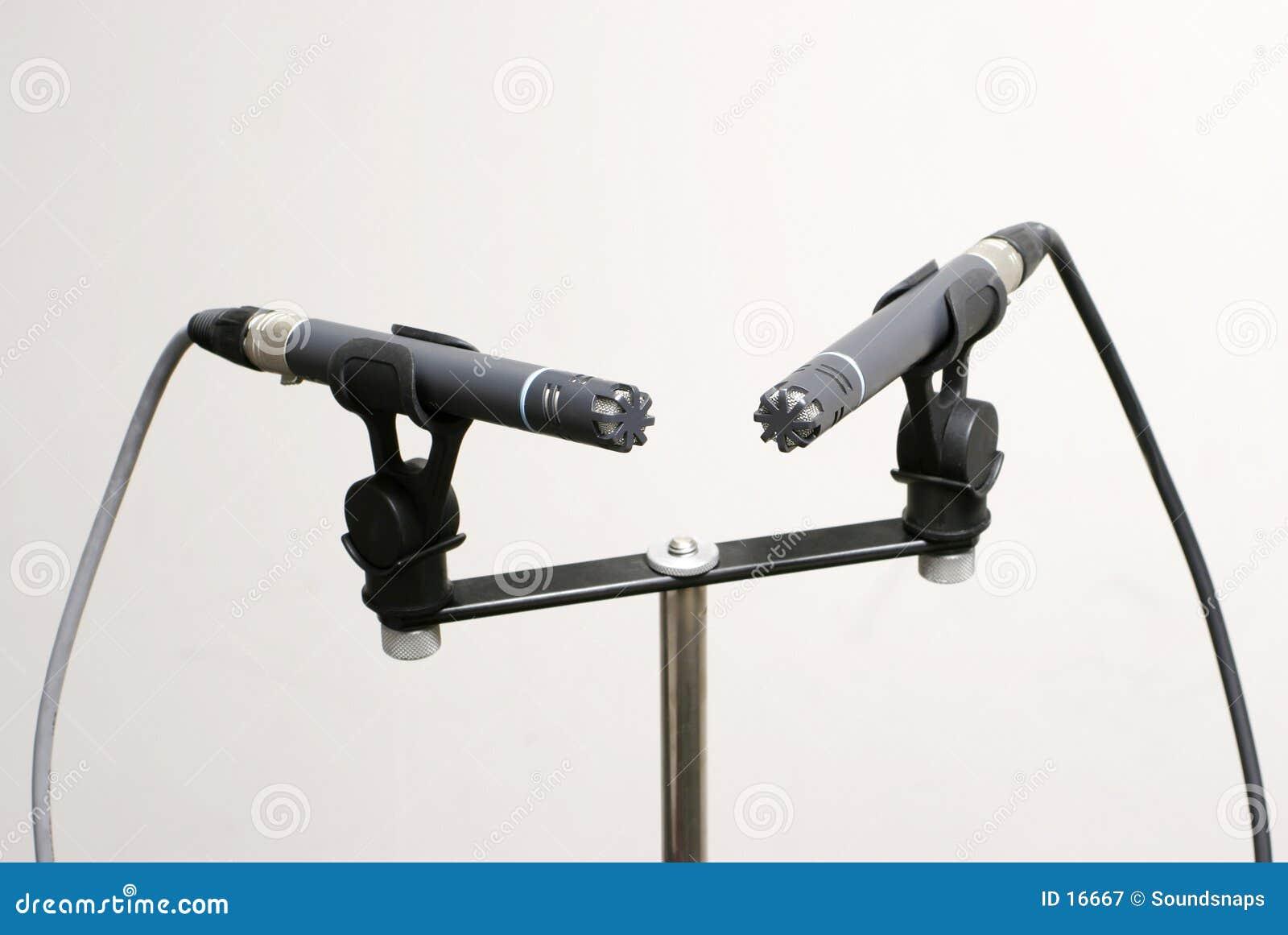 Paires stéréo de microphone
