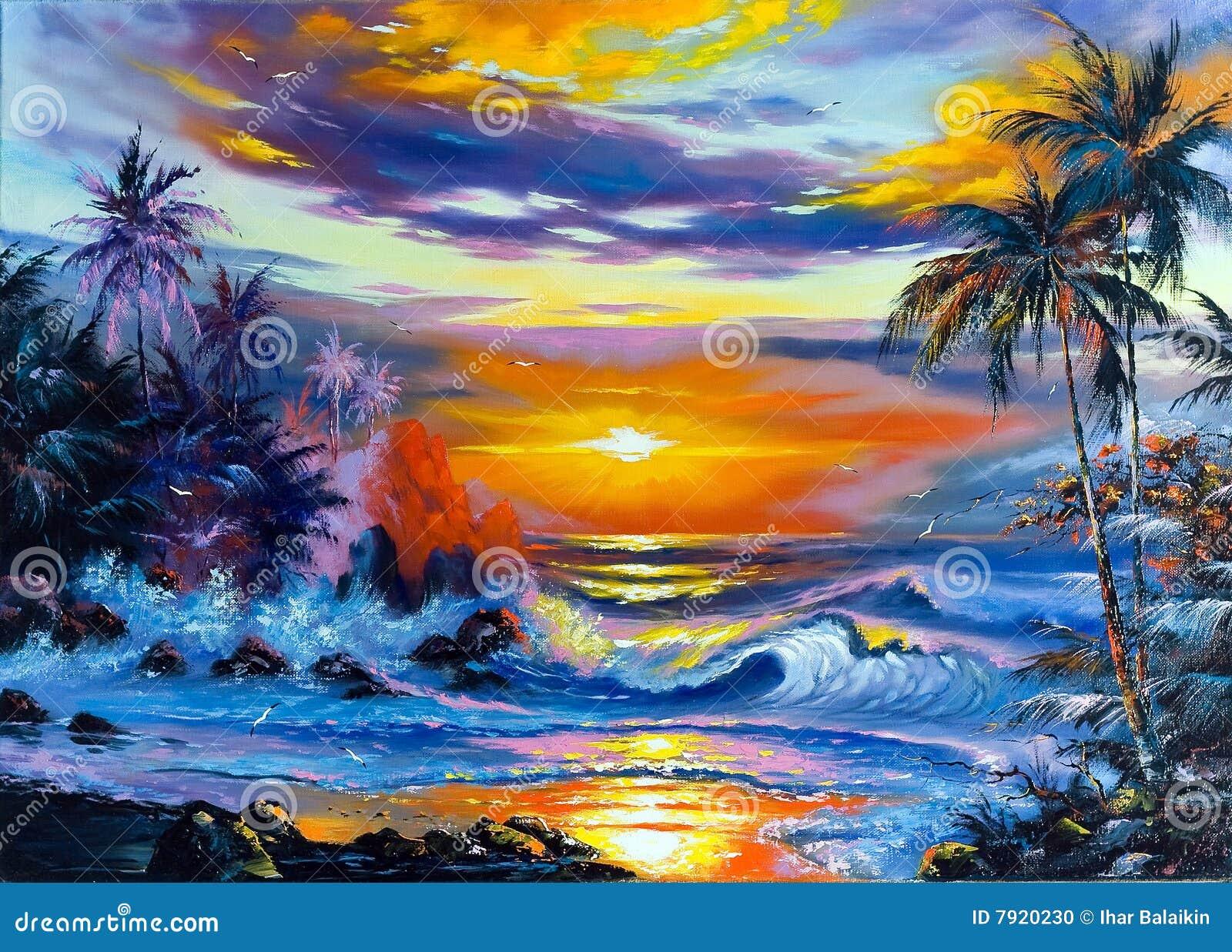 Paisagem Bonita Do Mar Foto de Stock - Imagem: 7920230